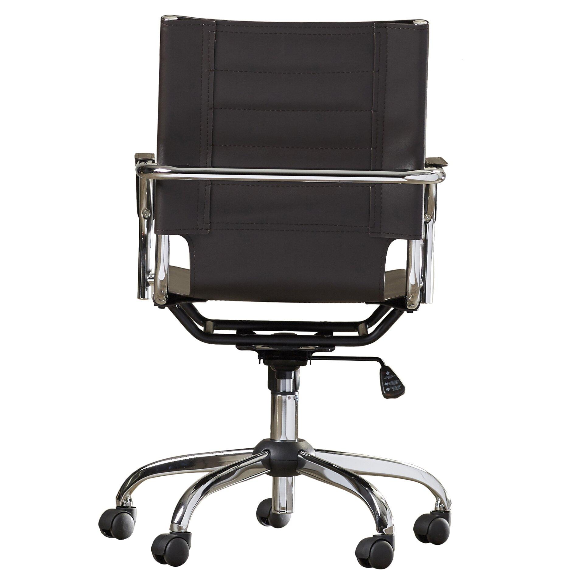 Varick Gallery Bloomingdale Mid Back Desk Chair Reviews Wayfair
