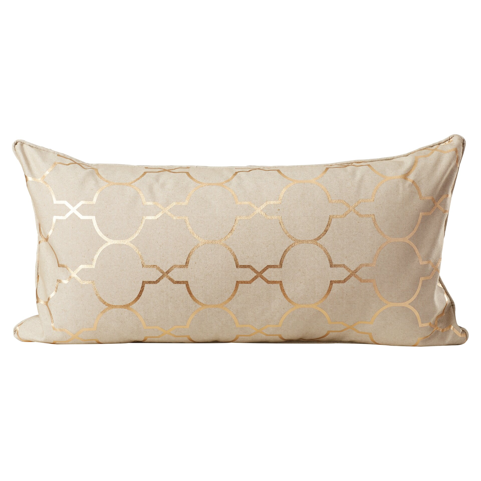 Throw Pillow Gallery : Varick Gallery Salisbury Foil Tile Throw Pillow & Reviews Wayfair.ca