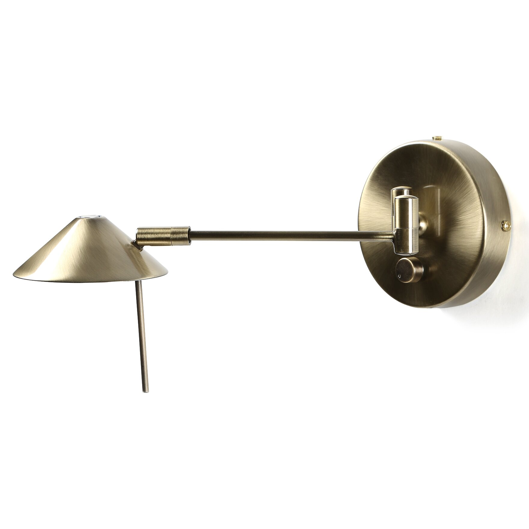 Wall Lights With Swing Arm : Varick Gallery Sylvan Place Swing Arm 1 Light Wall Sconce & Reviews Wayfair
