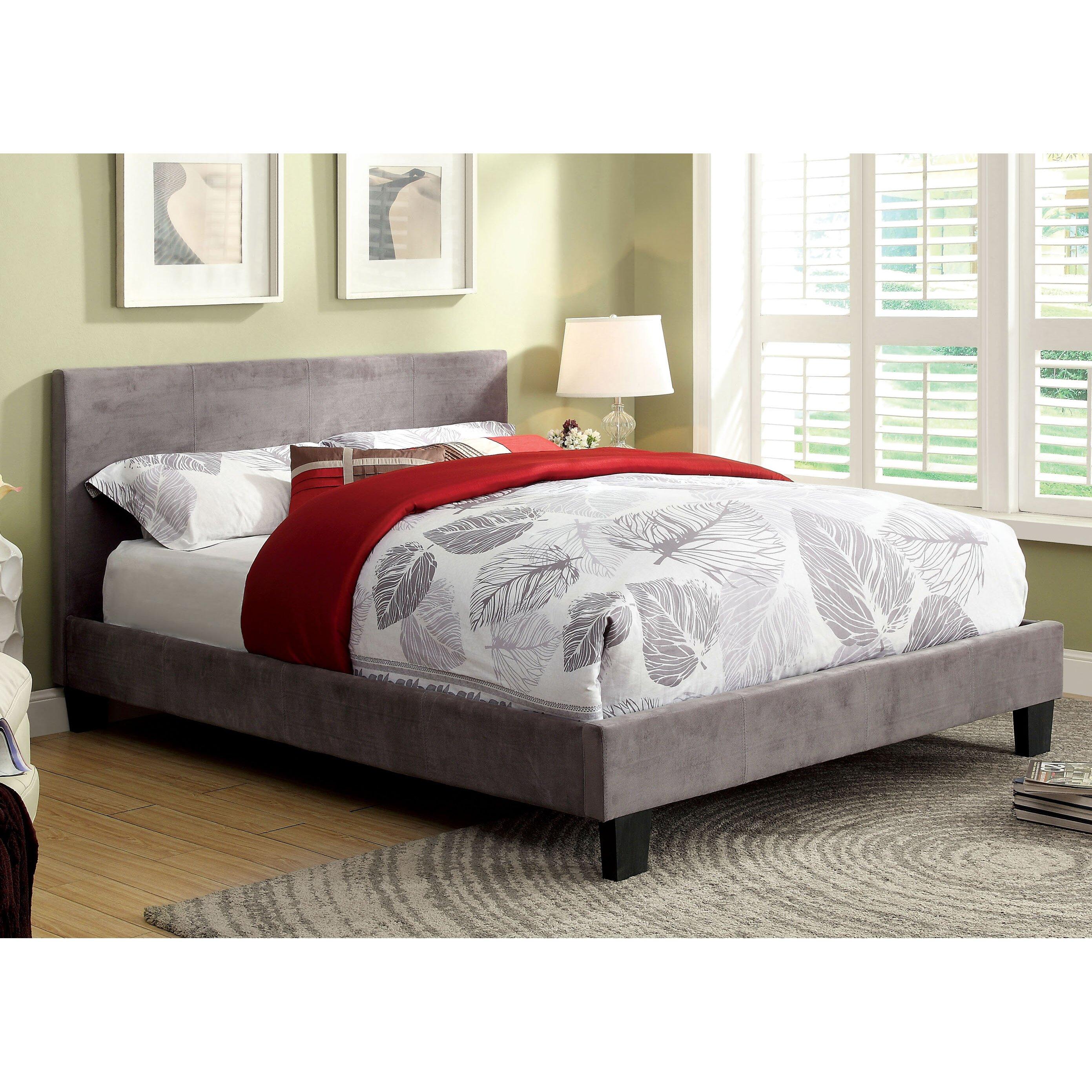 Varick Gallery Crestline Upholstered Platform Bed