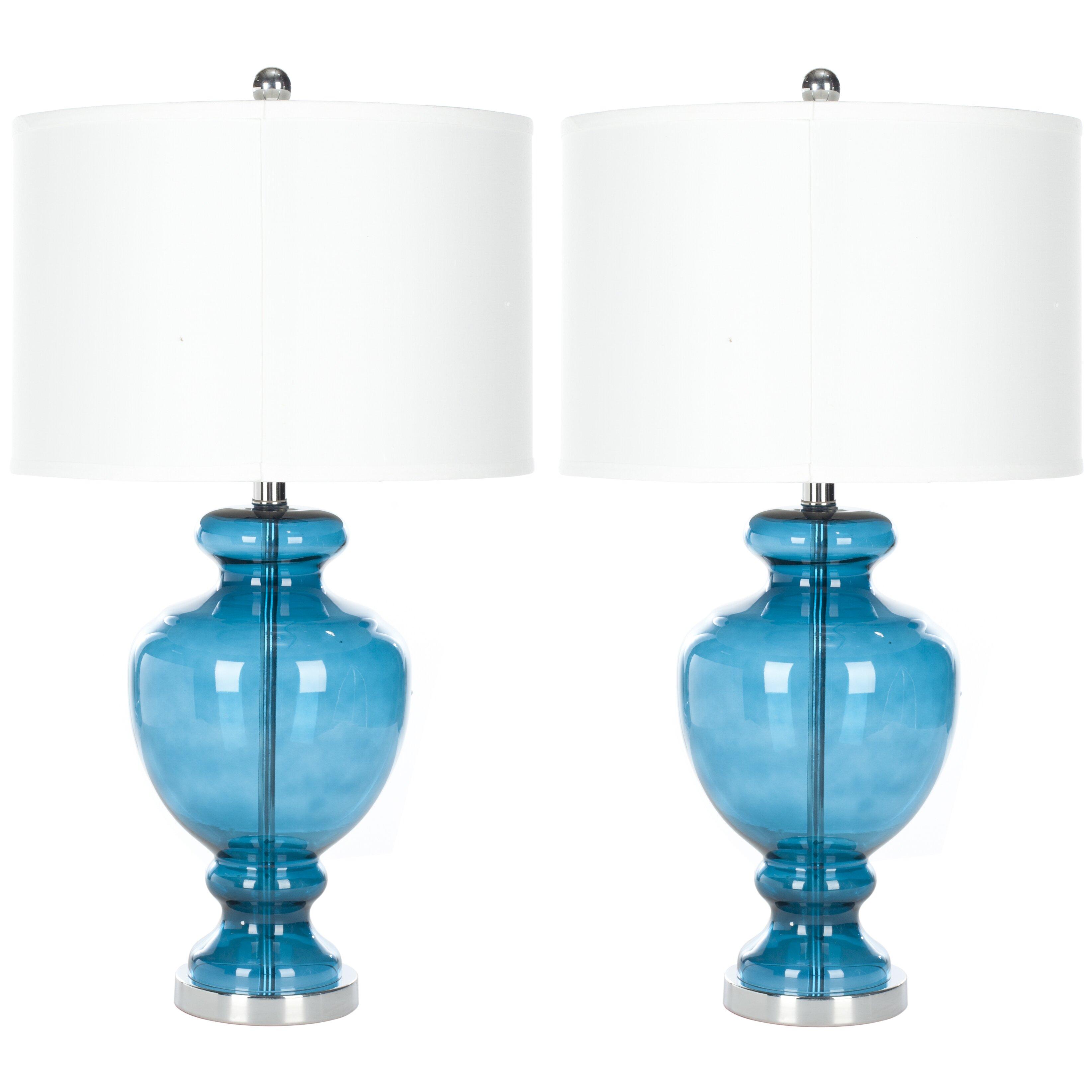 varick gallery snediker 28 table lamp set of 2. Black Bedroom Furniture Sets. Home Design Ideas