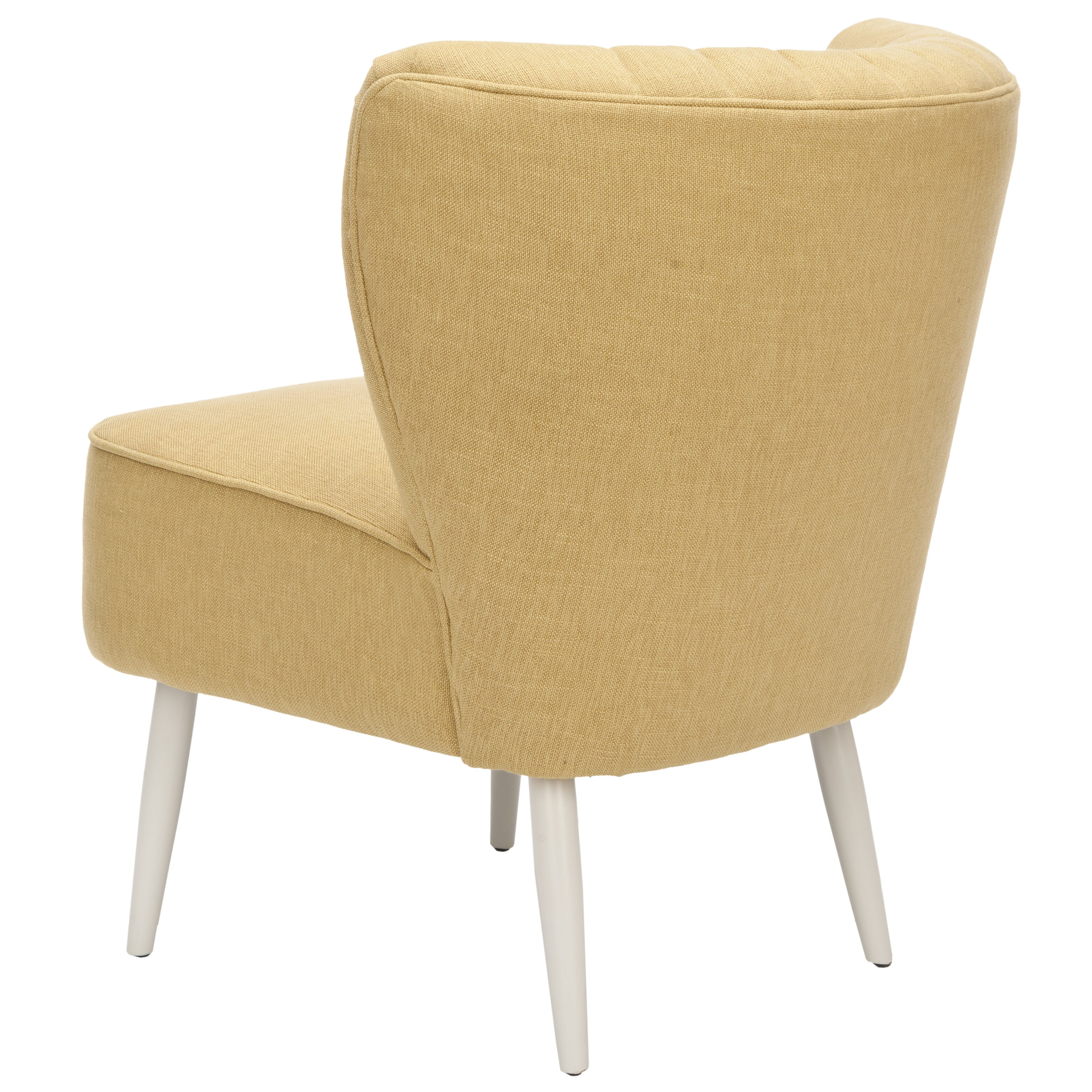 Varick Gallery Gelston Striped Fabric Slipper Chair Reviews Wayfair