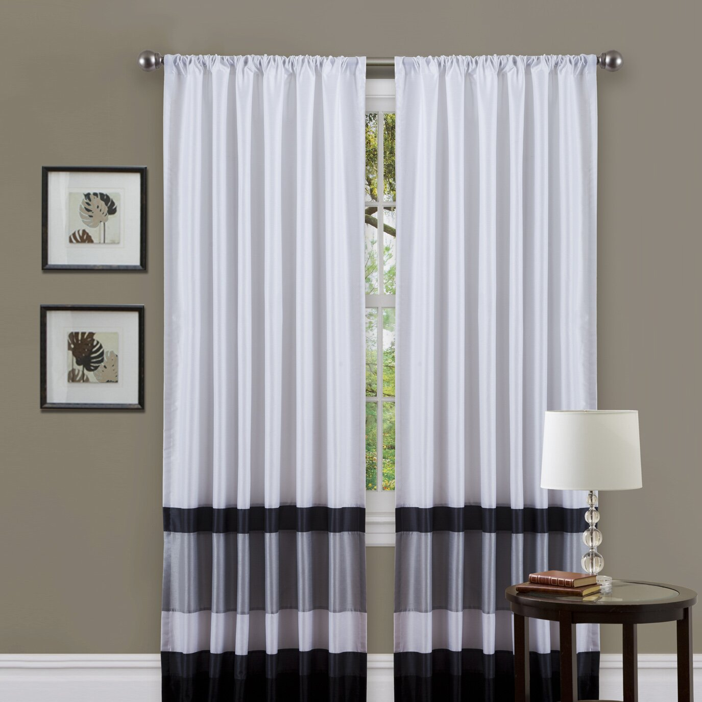 Varick Gallery Eldert Curtain Single Panel Amp Reviews Wayfair