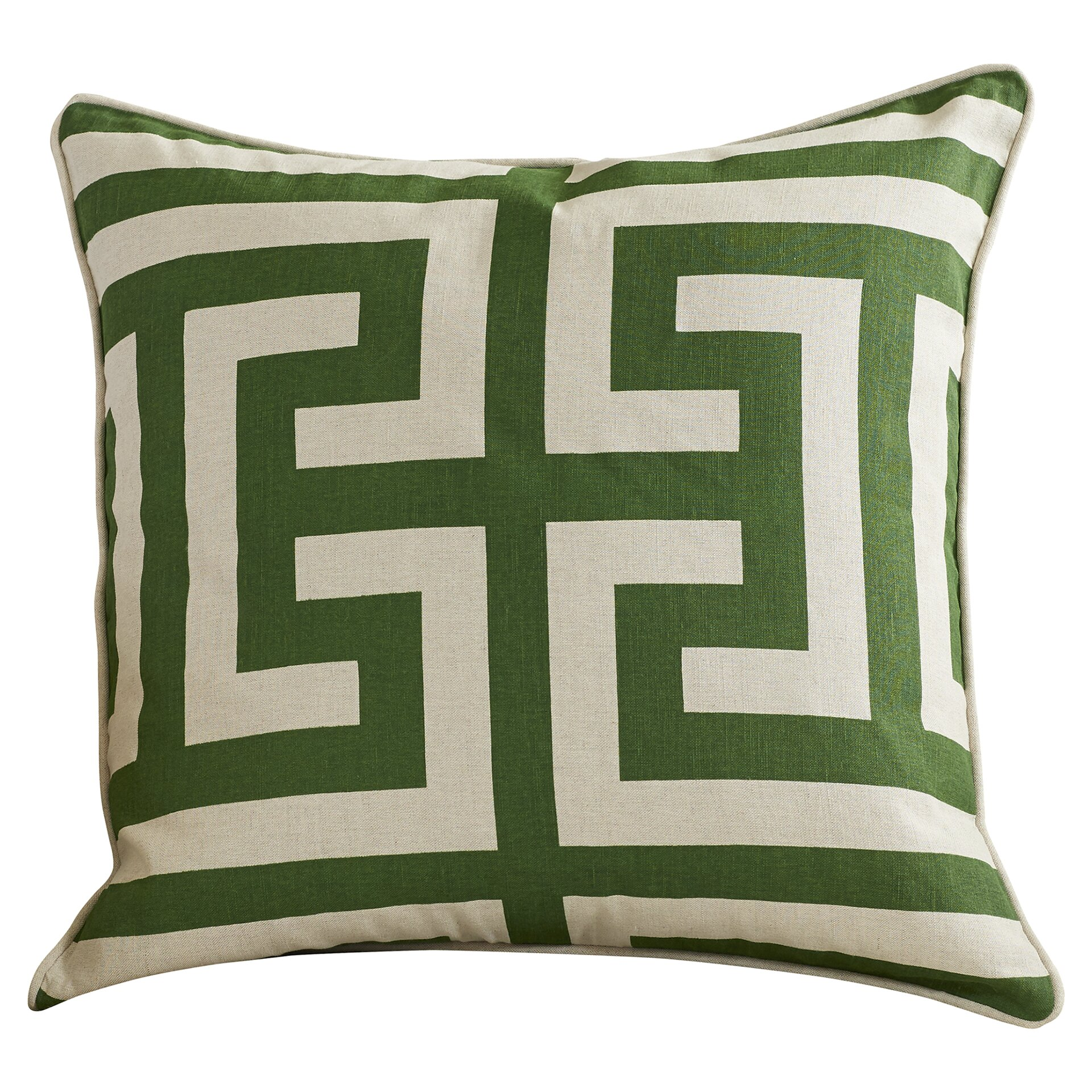 Throw Pillow Gallery : Varick Gallery Emmett Cotton Linen Throw Pillow & Reviews Wayfair