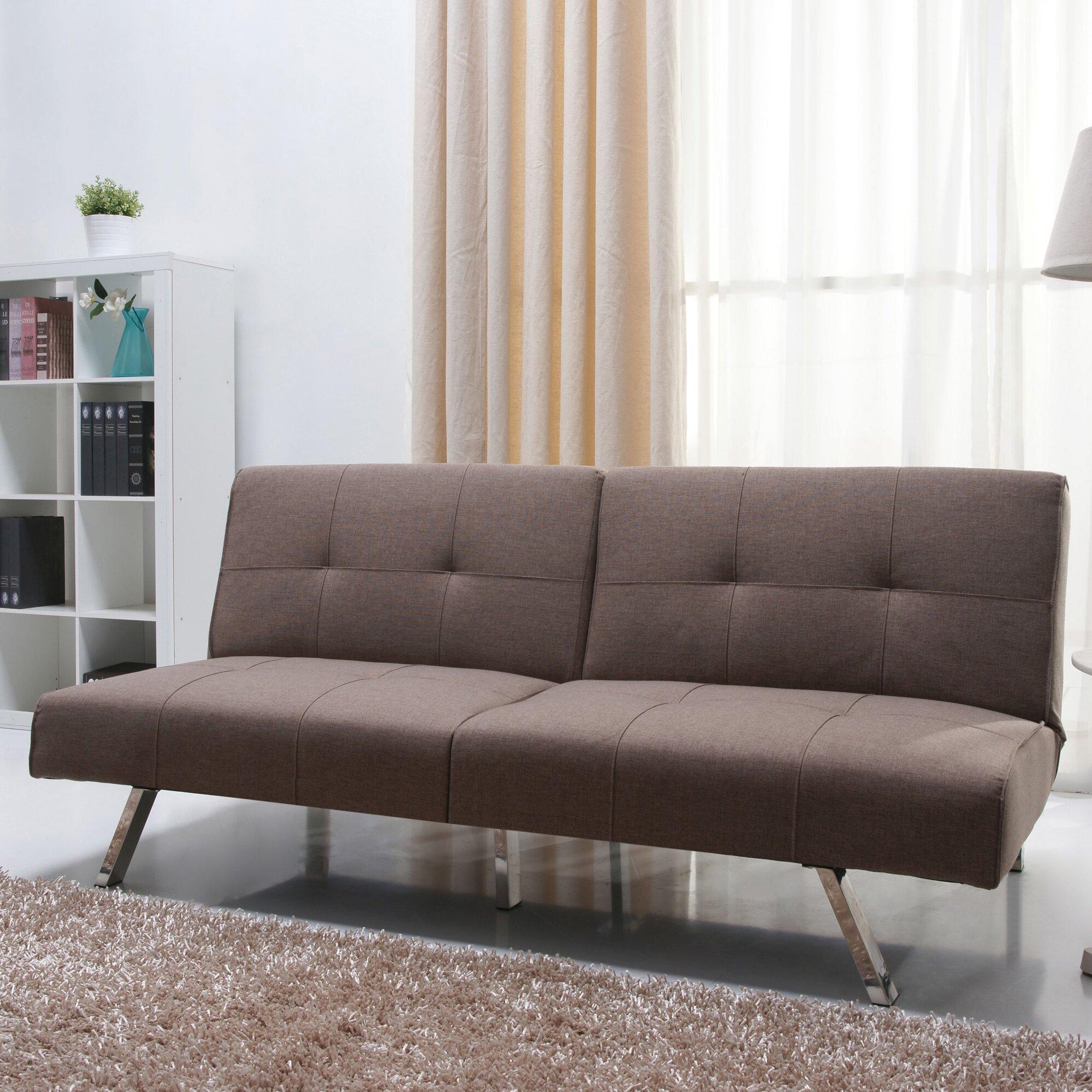 Varick Gallery Rosehill Foldable Futon Sofa Bed Reviews Wayfair