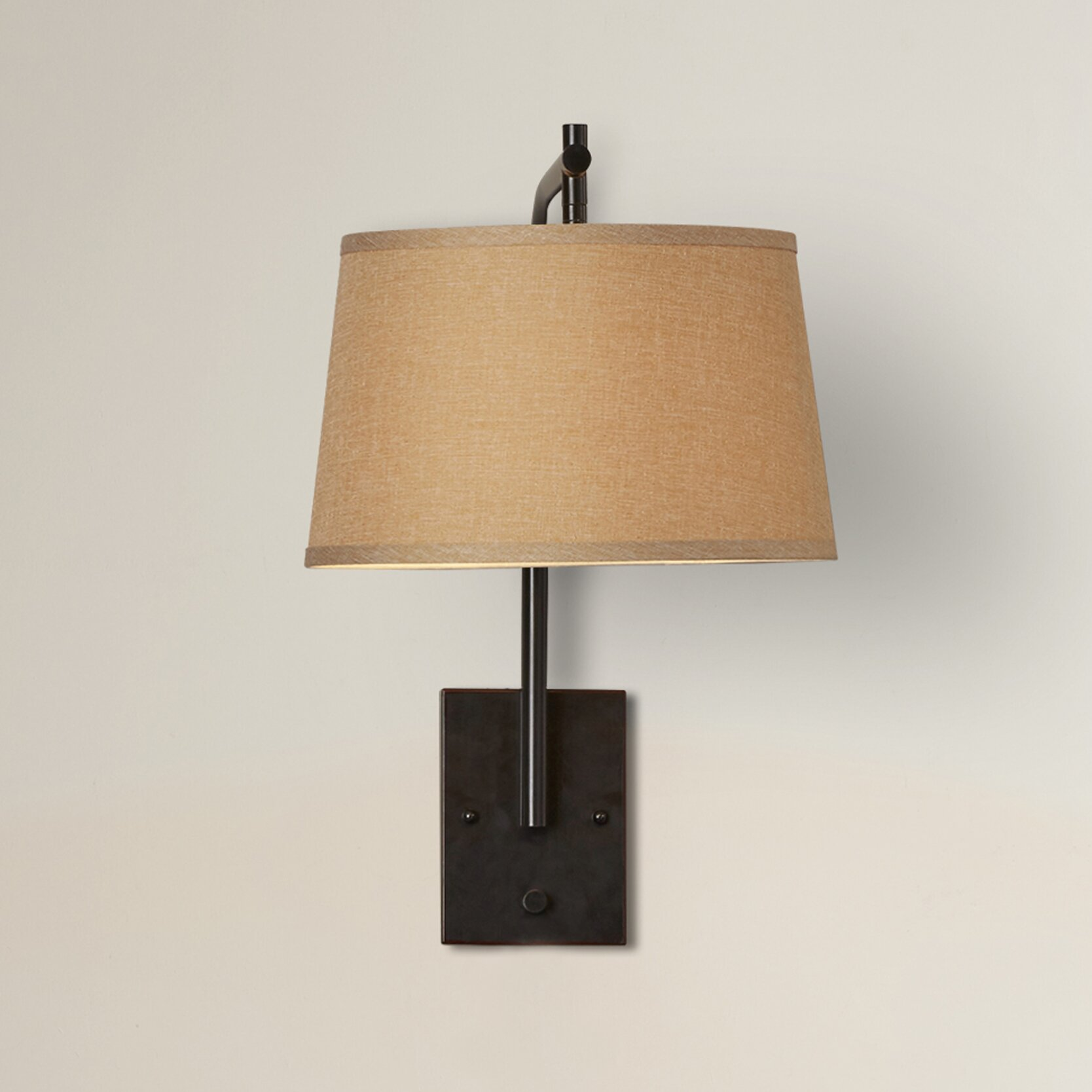 Russell Lowe Wall Lights : Varick Gallery Russell 1 Light Swing Arm Wall Lamp & Reviews Wayfair