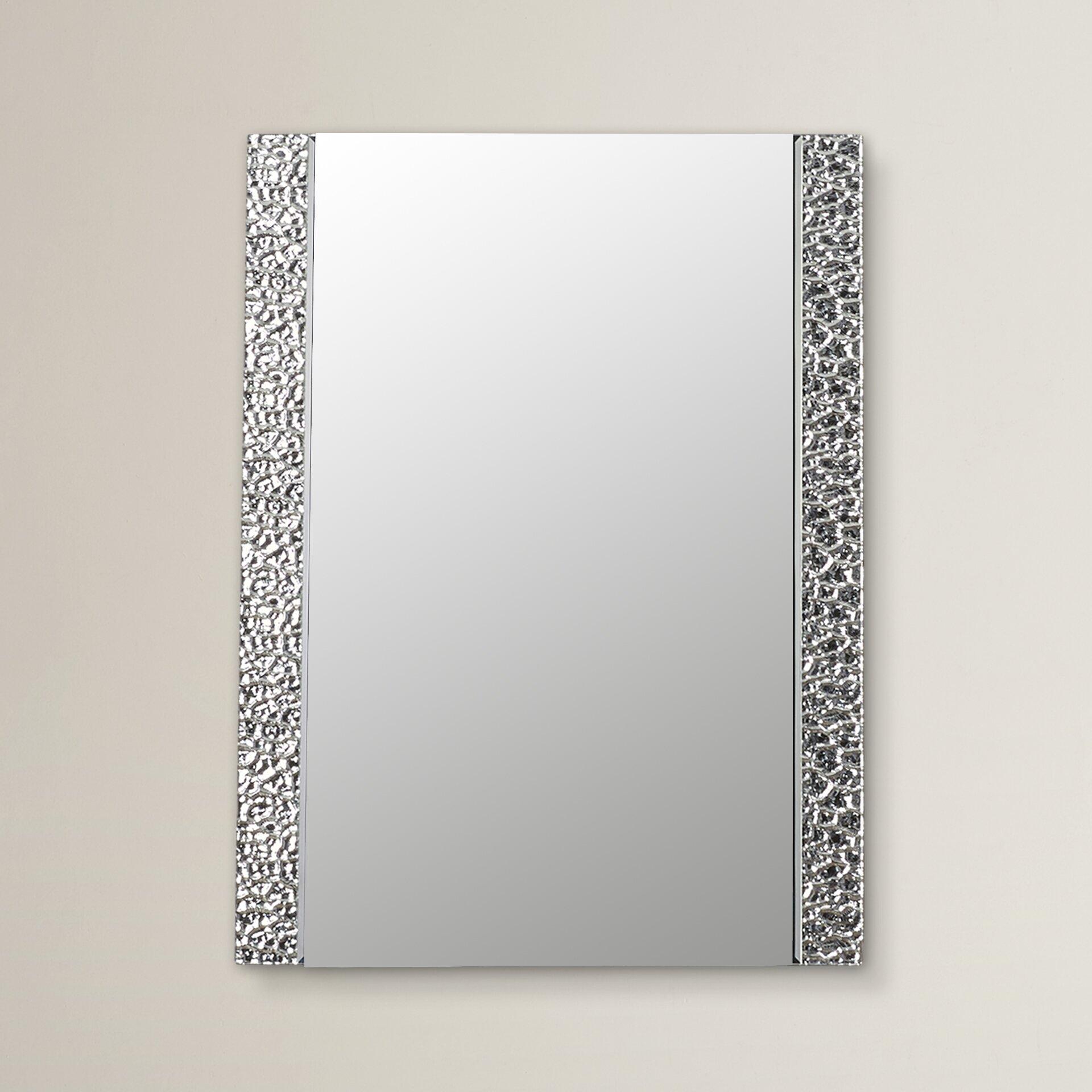Varick gallery logan vanity wall mirror reviews for Mirror gallery wall