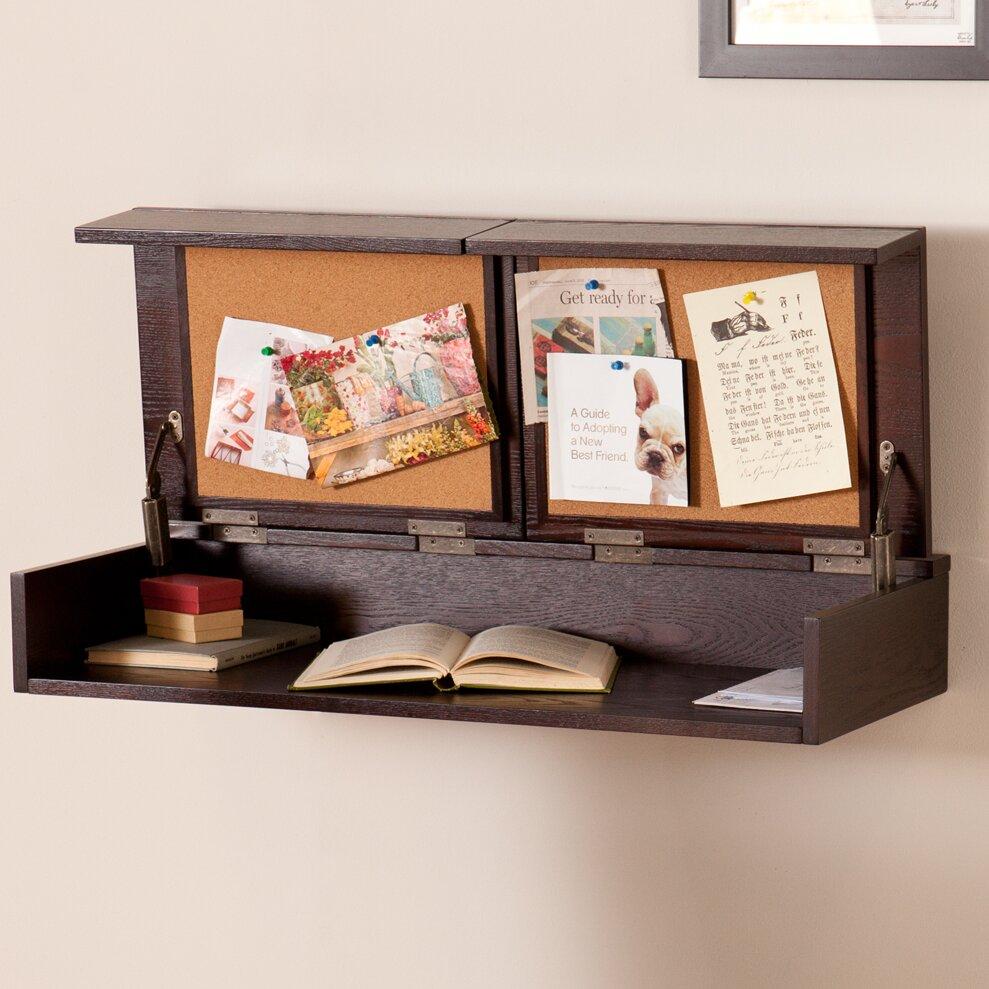 Varick Gallery Wall Mounted Desk & Reviews | Wayfair