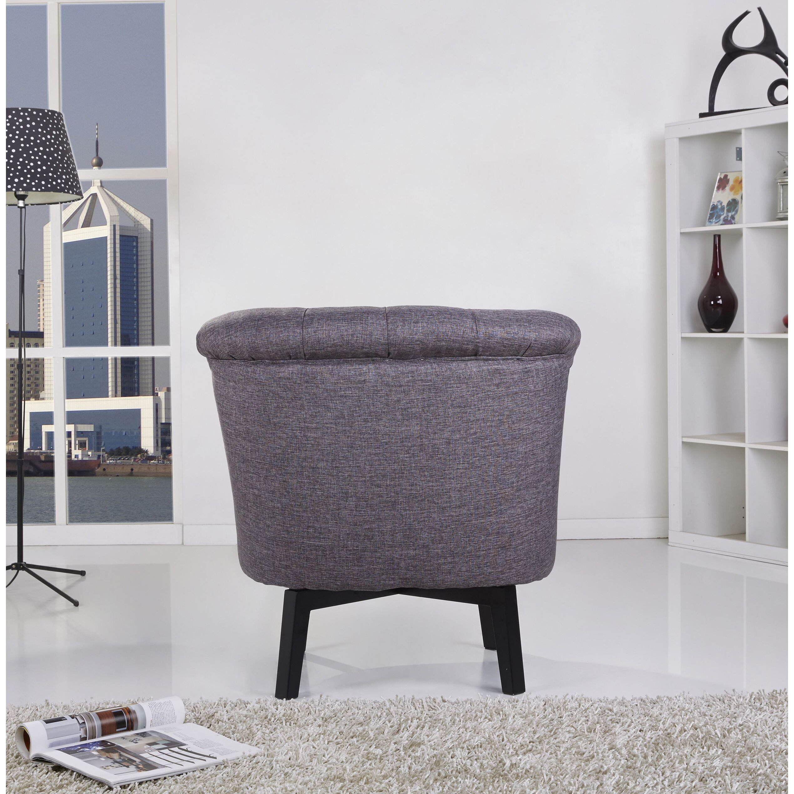 Varick Gallery Santillan Swivel Chair Amp Reviews Wayfair