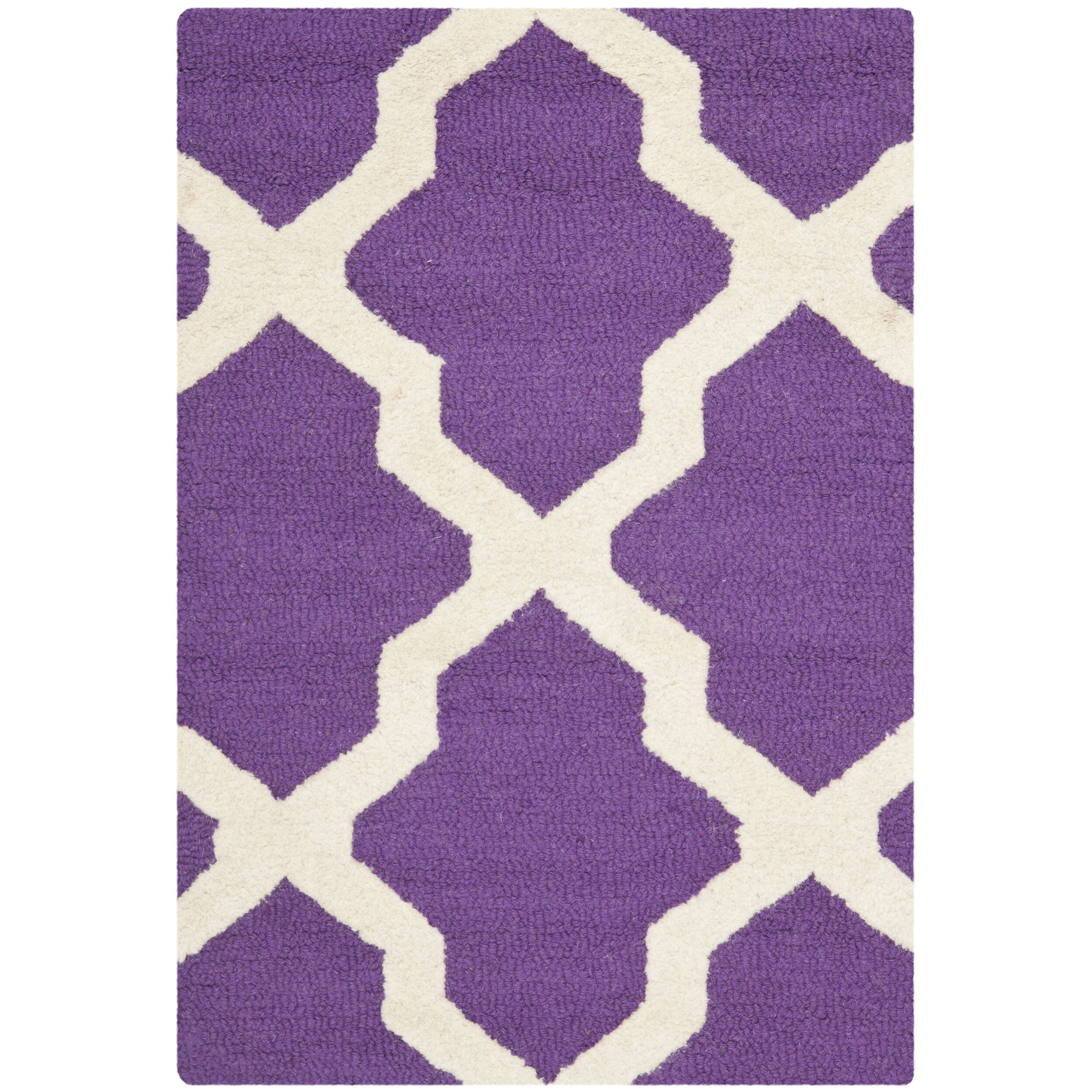 Xl Purple Rug: Varick Gallery Martins Purple / Ivory Area Rug & Reviews