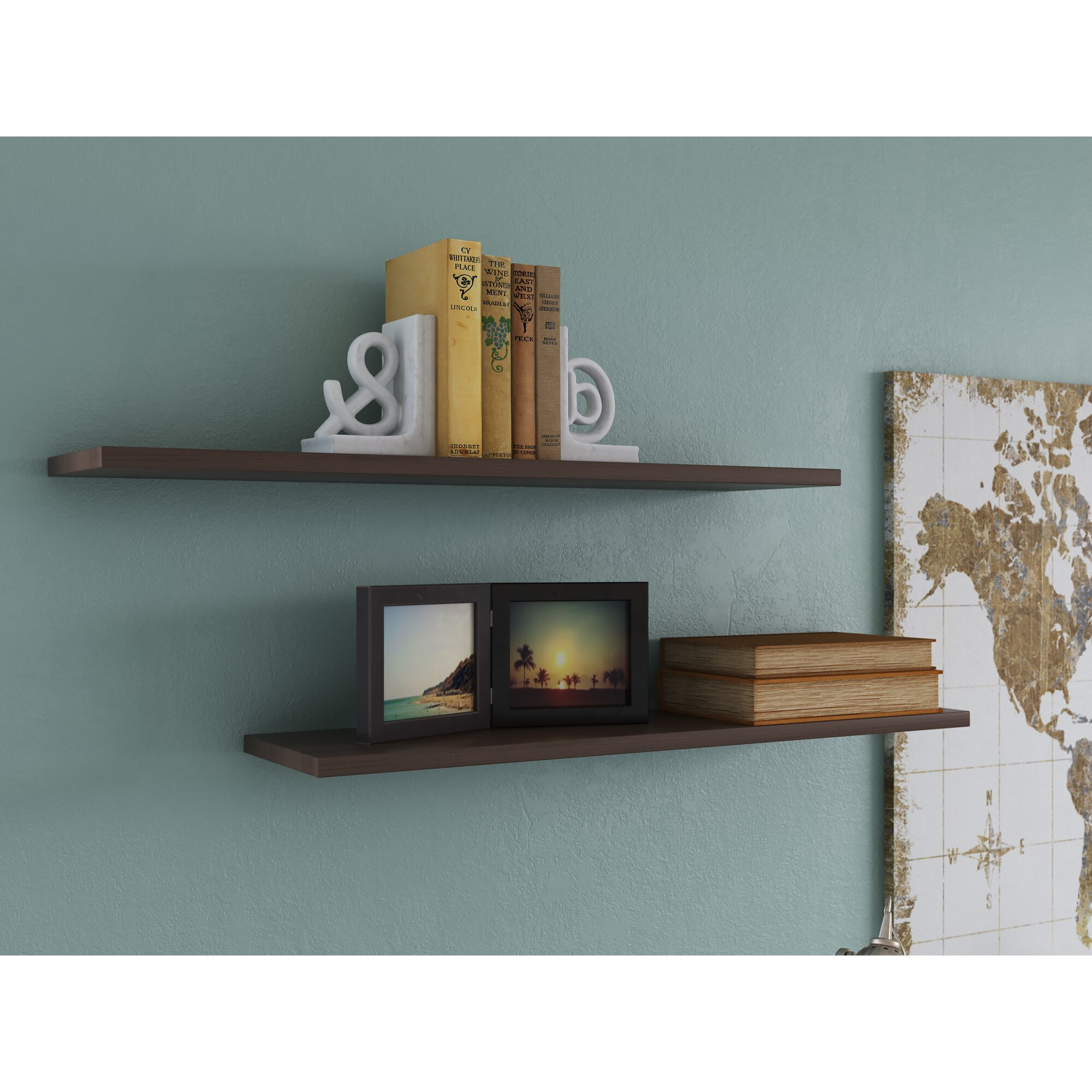 Varick gallery wall shelf 36 eco floating display shelf for Gallery wall shelves