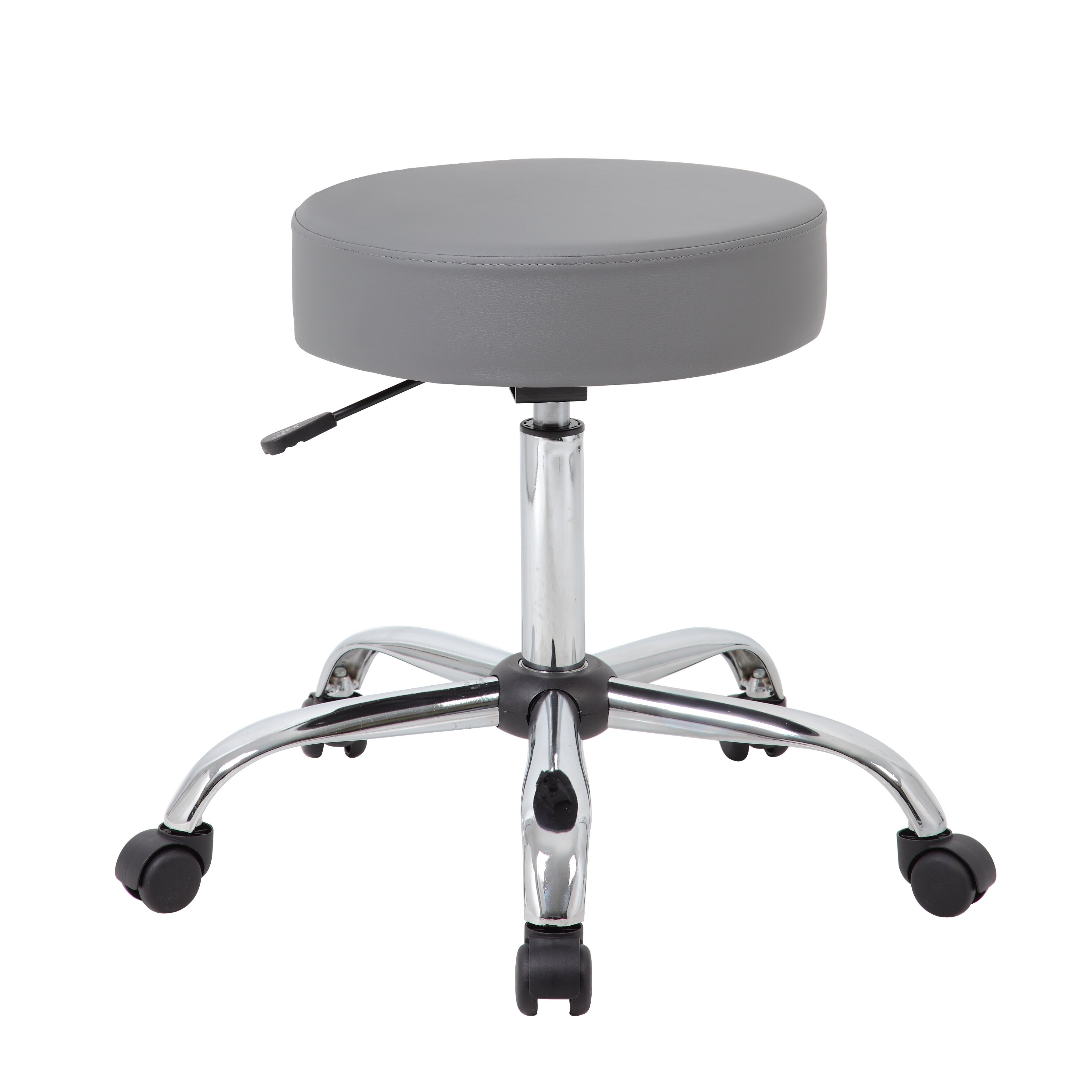 Varick Gallery Soundview Adjustable Stool With Dual Wheel Reviews Way