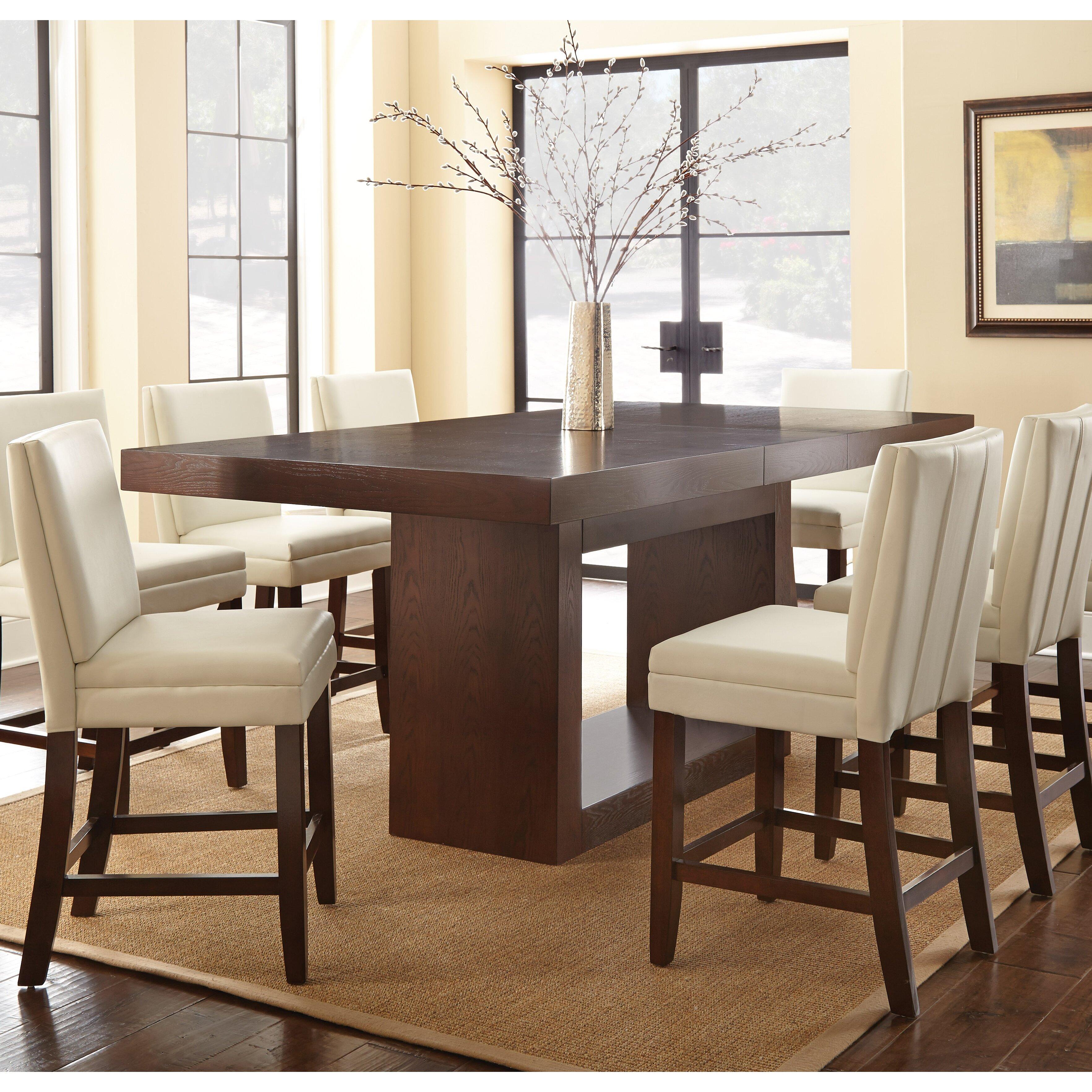 Brayden Studio Mcwhorter Dining Table Reviews: Brayden Studio Antonio Counter Height Dining Table