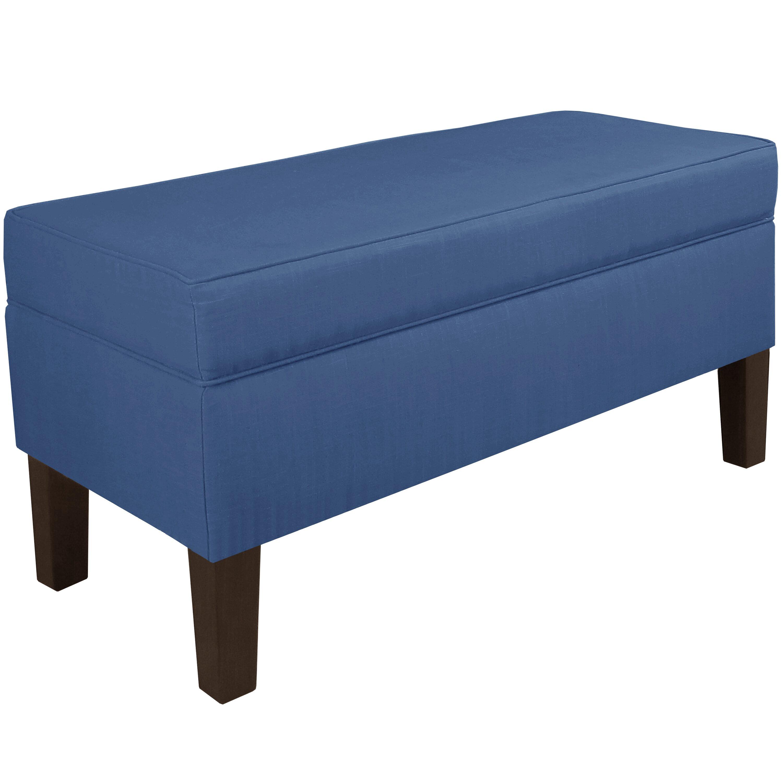 Brayden Studio Upholstered Storage Bedroom Bench Reviews