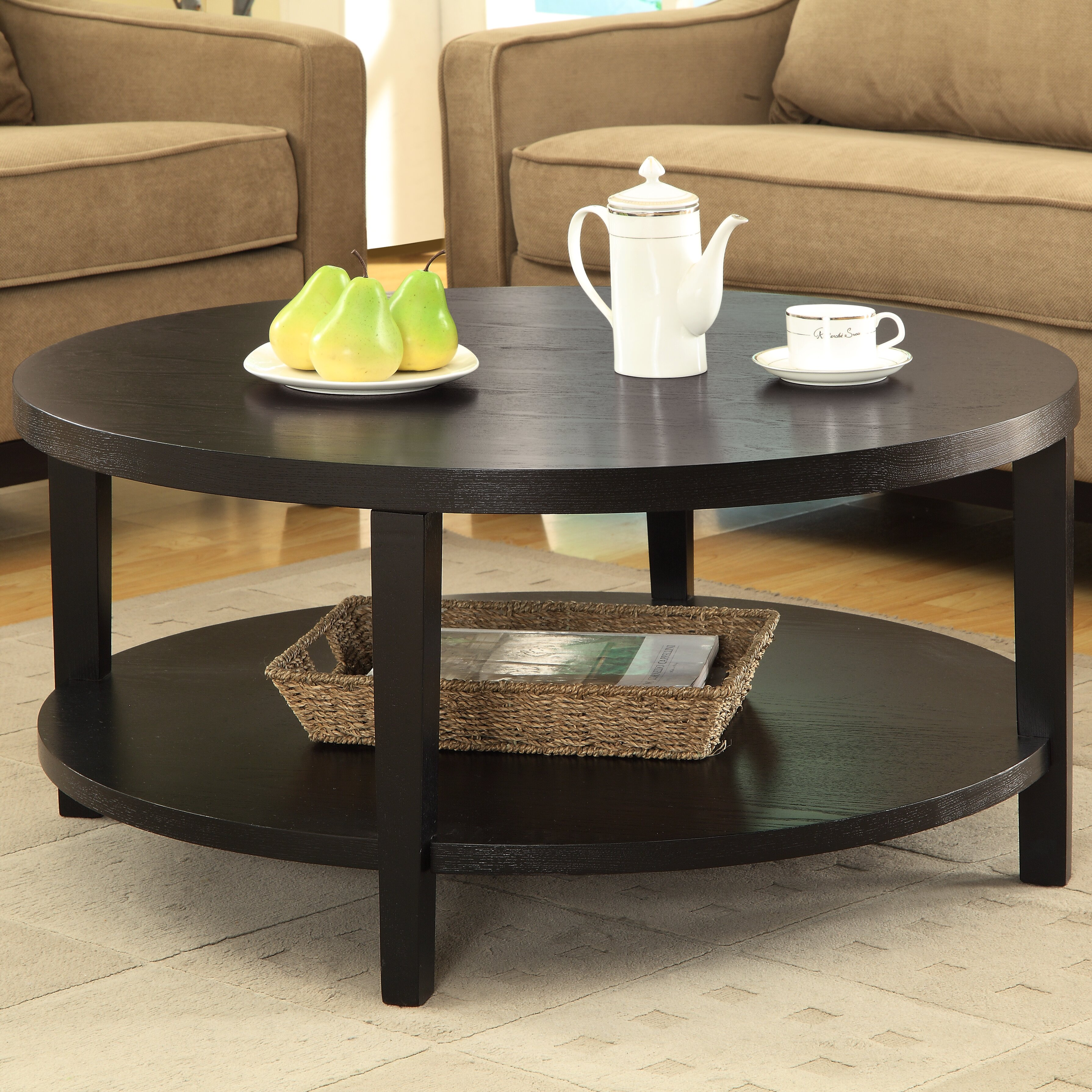 Round Coffee Table Set Of 2: Brayden Studio Fabiano Round Coffee Table & Reviews