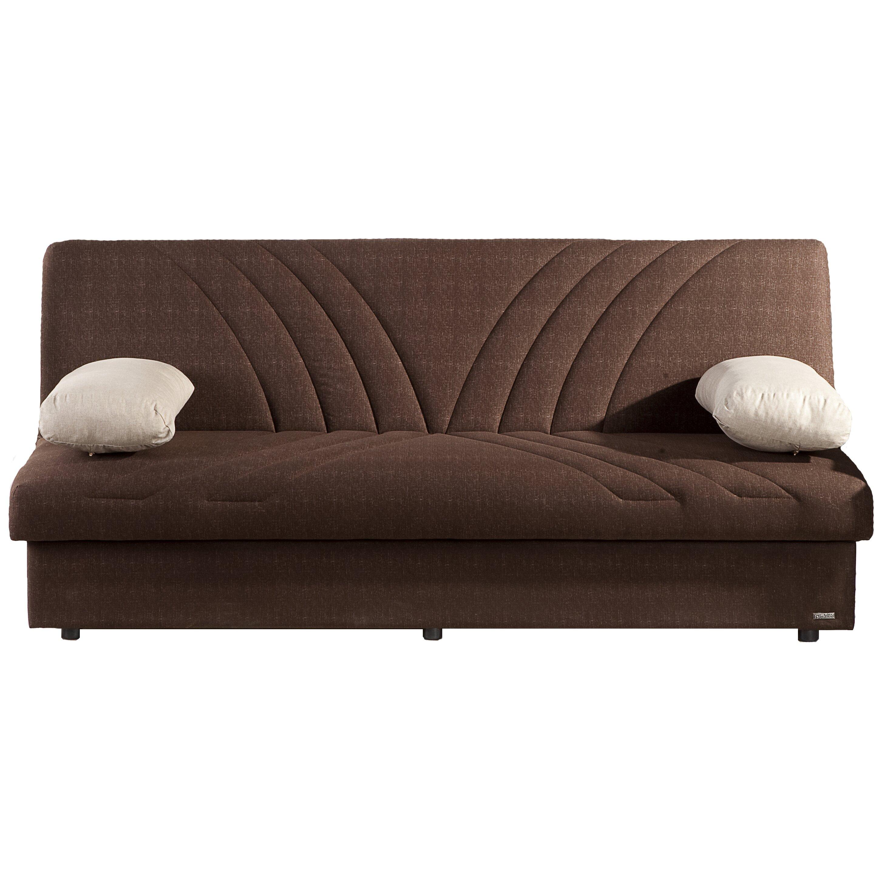 brayden studio justice three seat sleeper sofa reviews
