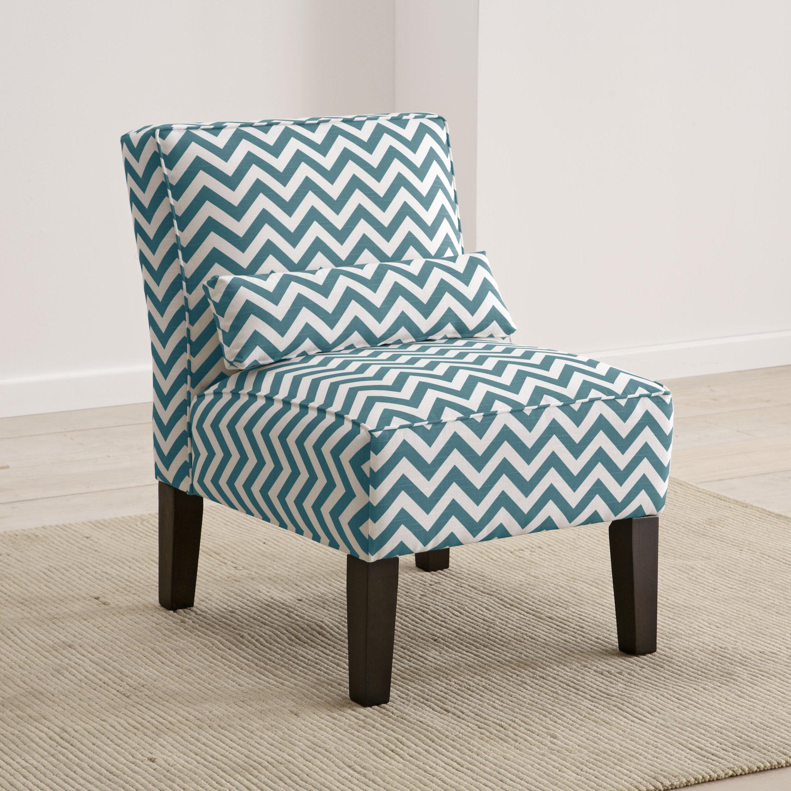 Brayden studio cloverdale upholstered slipper chair for Slipper chair