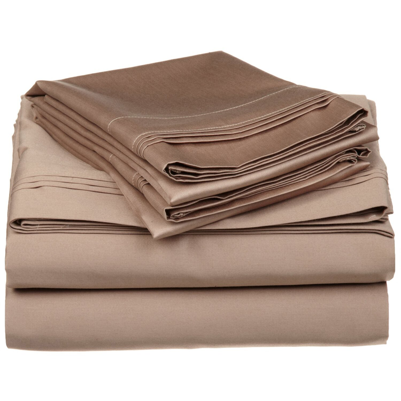 brayden studio mayne 650 thread count premium long staple combed cotton sheet set reviews. Black Bedroom Furniture Sets. Home Design Ideas