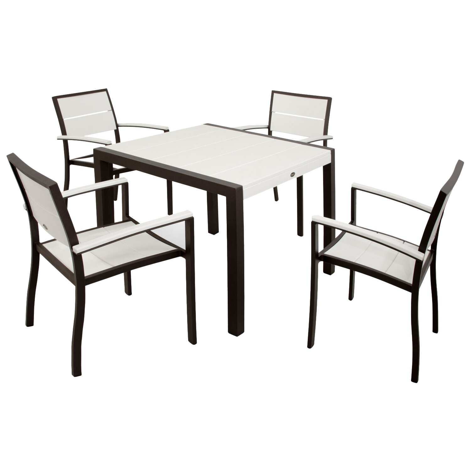 Brayden Studio Mazur Outdoor 5 Piece Dining Set Wayfair