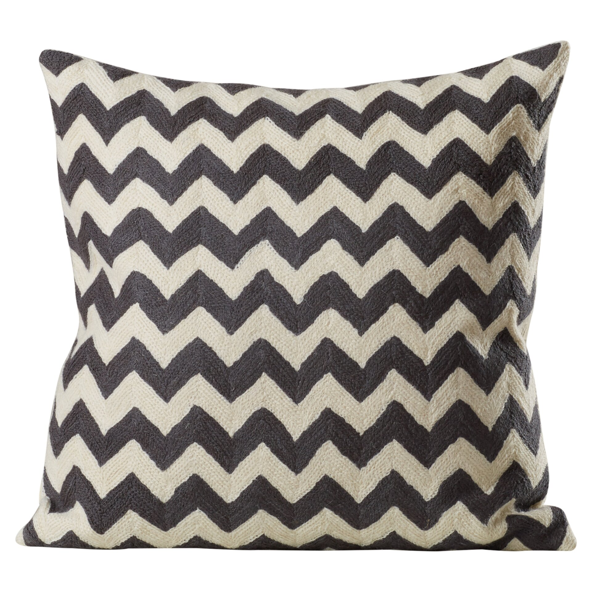 Max Studio Home Decorative Pillows : Brayden Studio Jeramiah Striped Decorative Cotton Throw Pillow & Reviews Wayfair