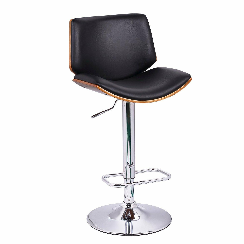 Brayden studio slocum adjustable height swivel bar stool for Adjustable height bar stools