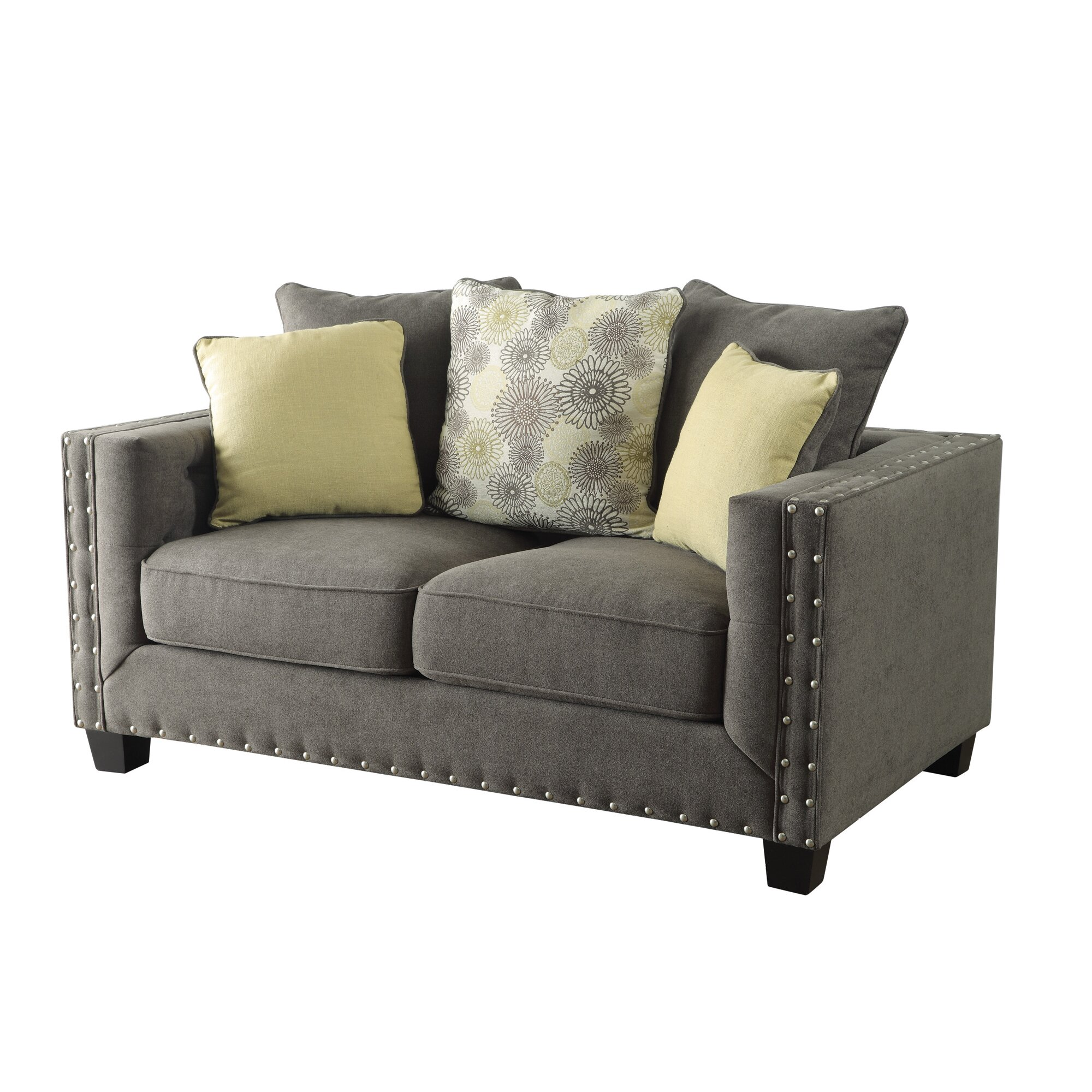 Brayden Studio Brixey Tufted Loveseat Reviews Wayfair