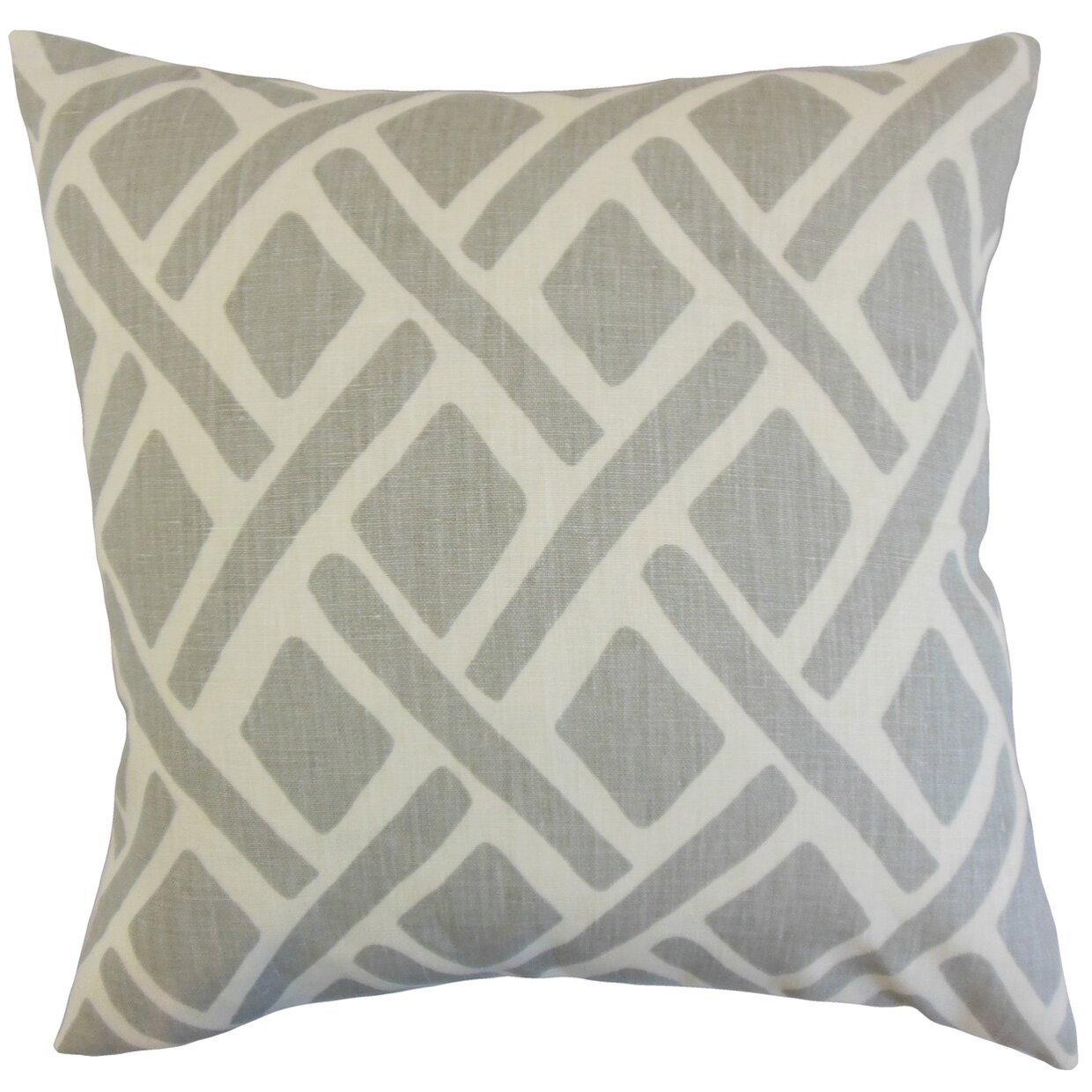 Max Studio Home Decorative Pillows : Brayden Studio Moton Geometric Linen Throw Pillow & Reviews Wayfair