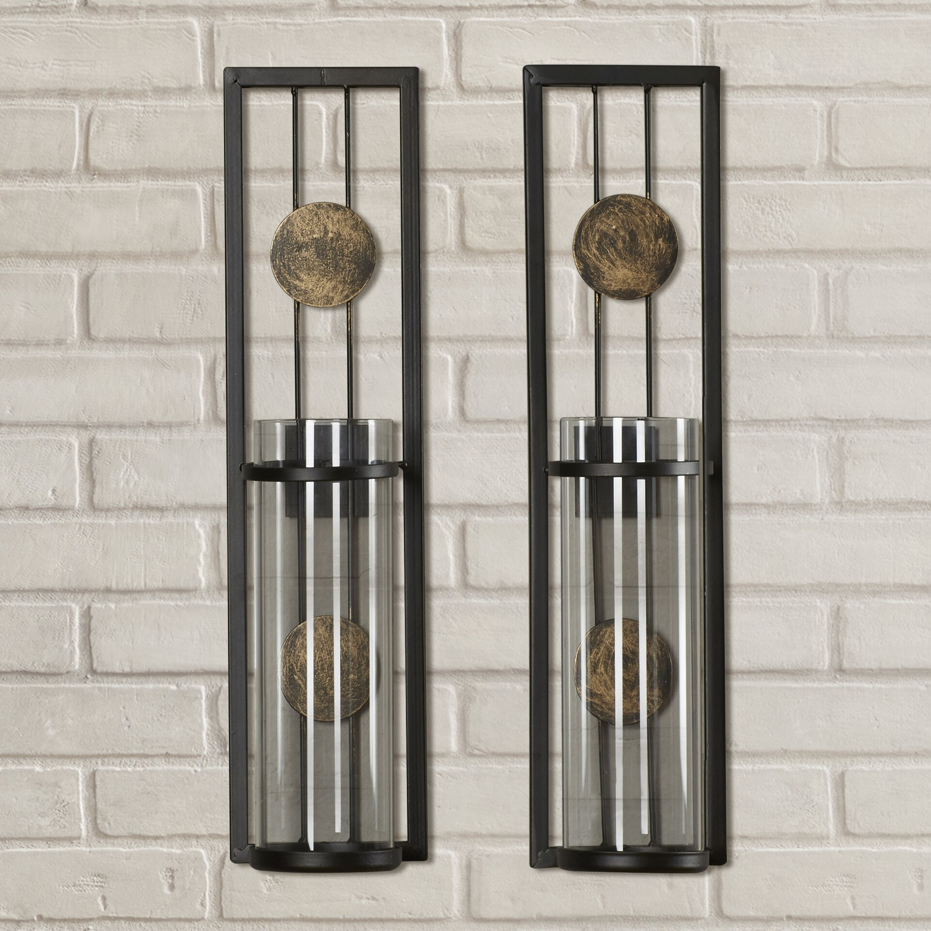 Brayden Studio Contemporary Wall Sconce Candle Holder & Reviews Wayfair.ca