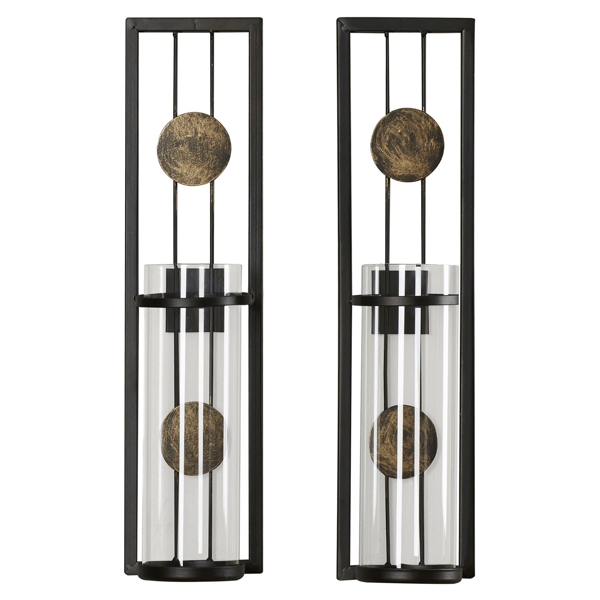 Brayden Studio Contemporary Wall Sconce Candle Holder & Reviews Wayfair