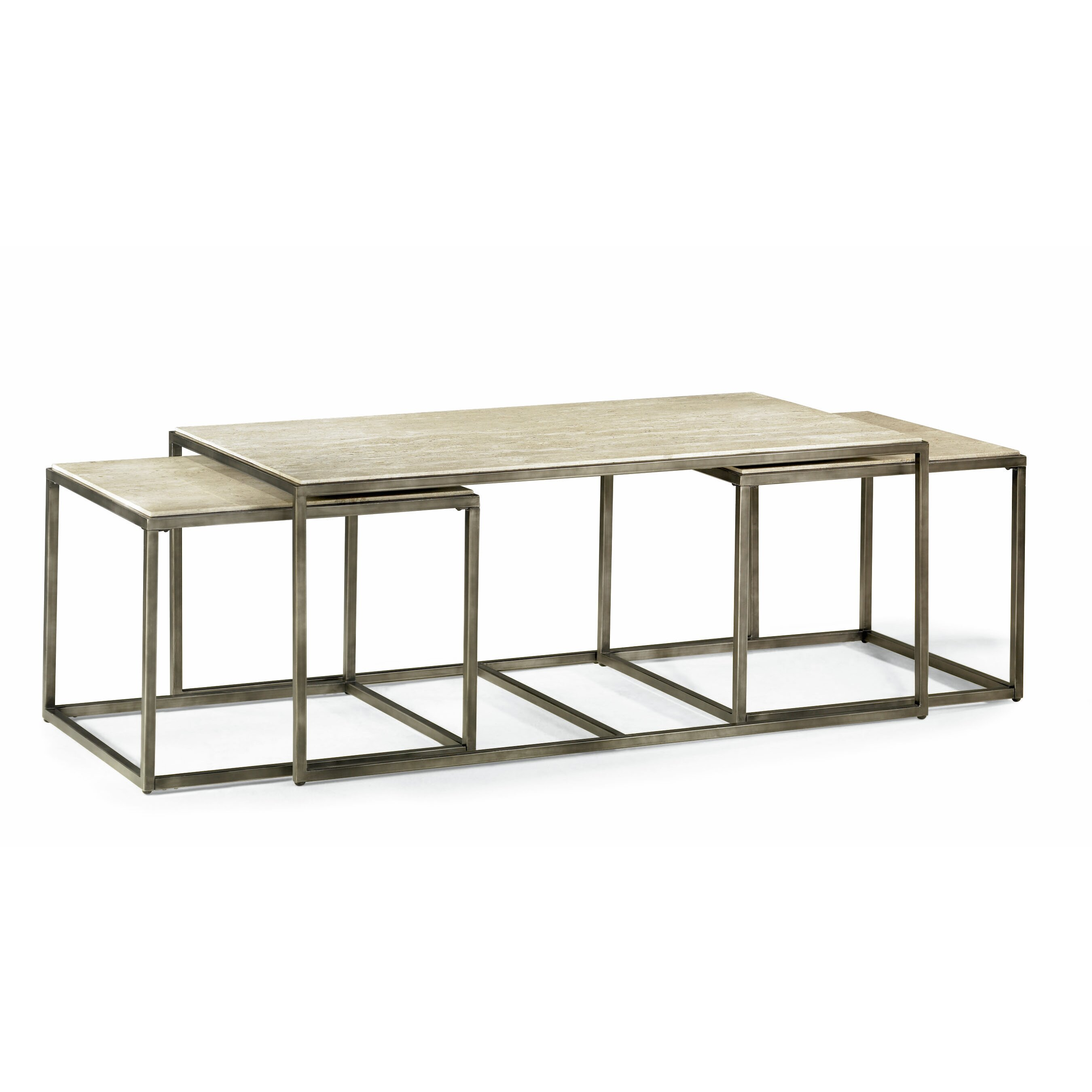 Brayden Studio Masuda Nesting Coffee Table Reviews
