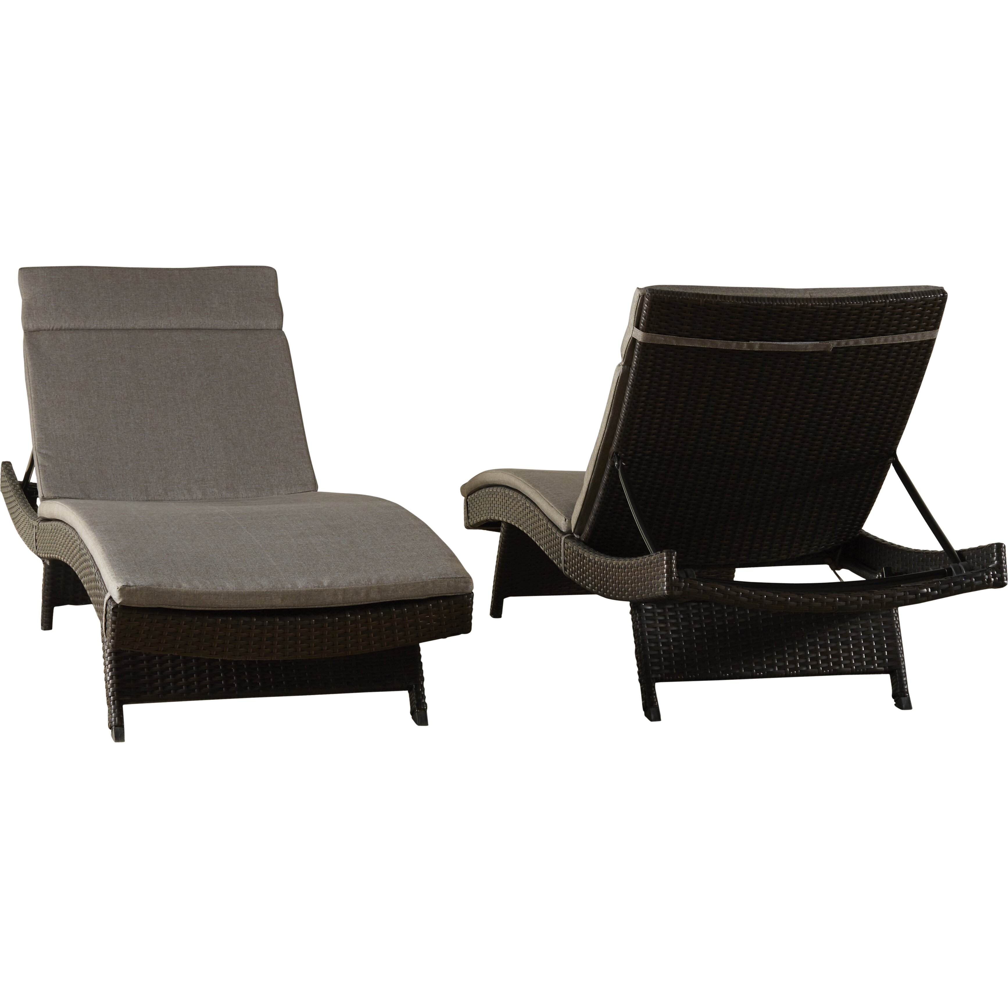 Brayden studio ferrara chaise lounge with cushion for Buy chaise lounge cushion