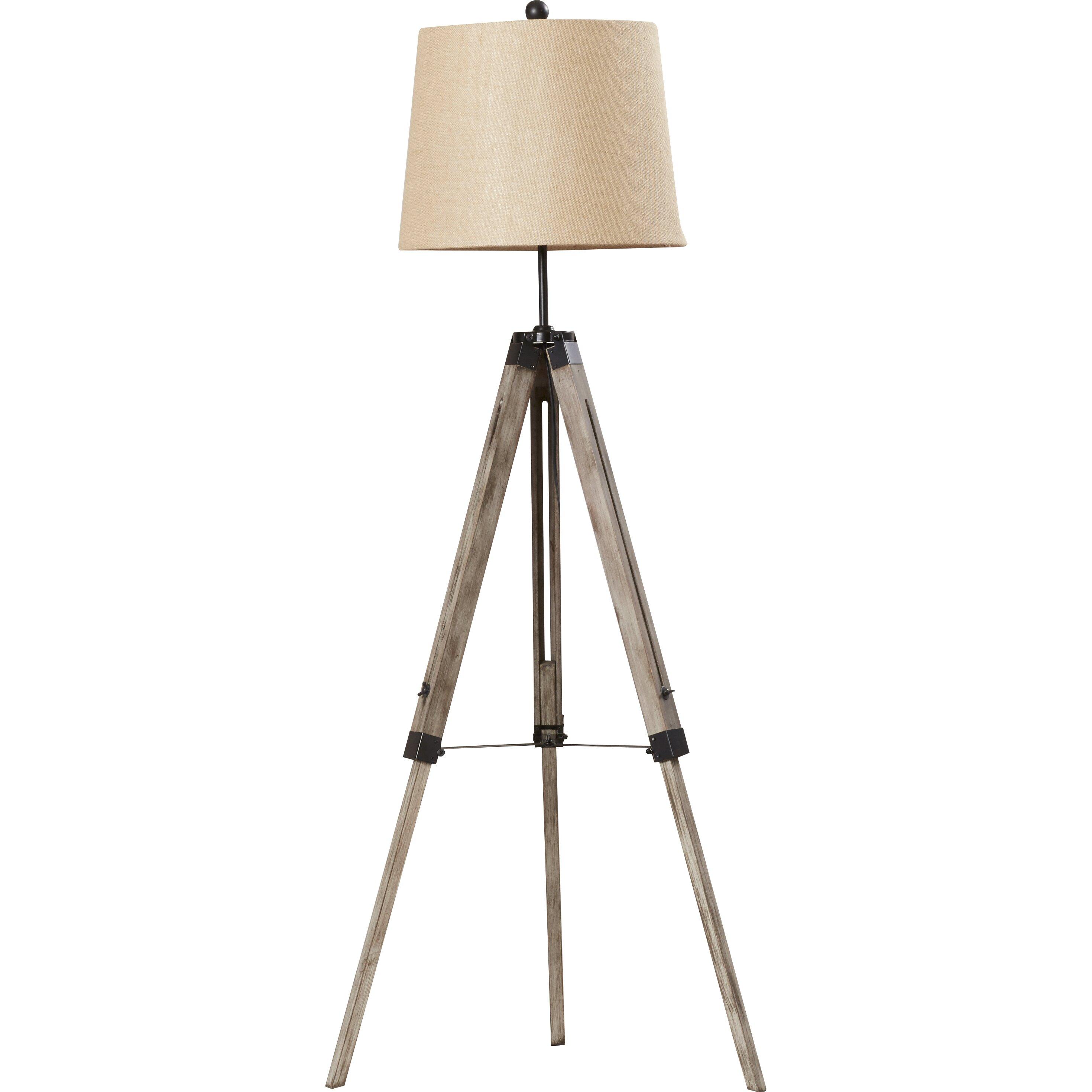 Brayden Studio Seaborn 63 Tripod Floor Lamp Reviews