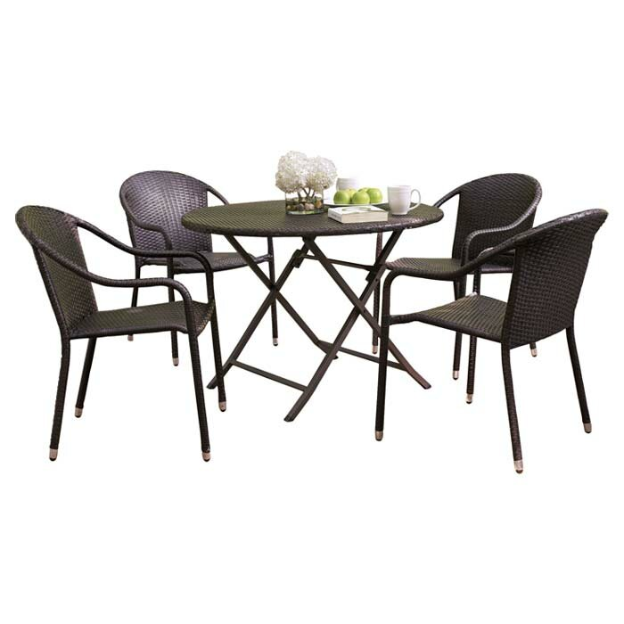Brayden Studio Crosson 5 Piece Dining Set Reviews Wayfair