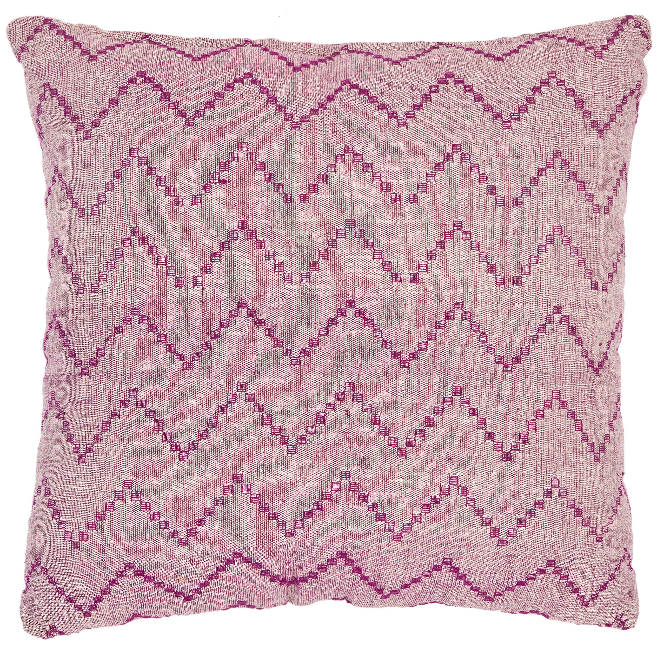Brayden Studio Godley Decorative Pillows in Rose Red and Purple (Set of 2) & Reviews Wayfair