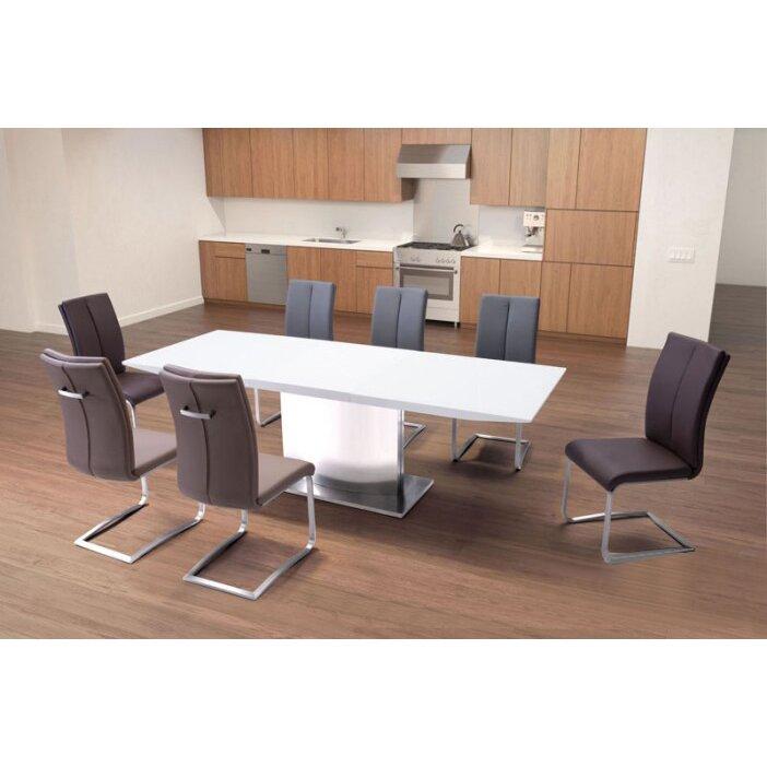 Brayden Studio Mcwhorter Dining Table Reviews: Brayden Studio Makin Extendable Dining Table & Reviews
