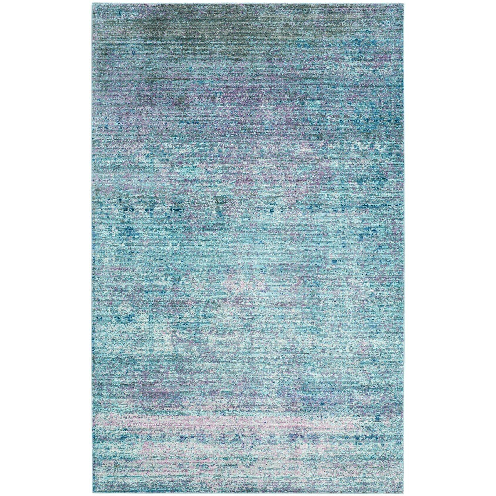 Brayden Studio Mulhall Purple Blue Area Rug Wayfair Ca