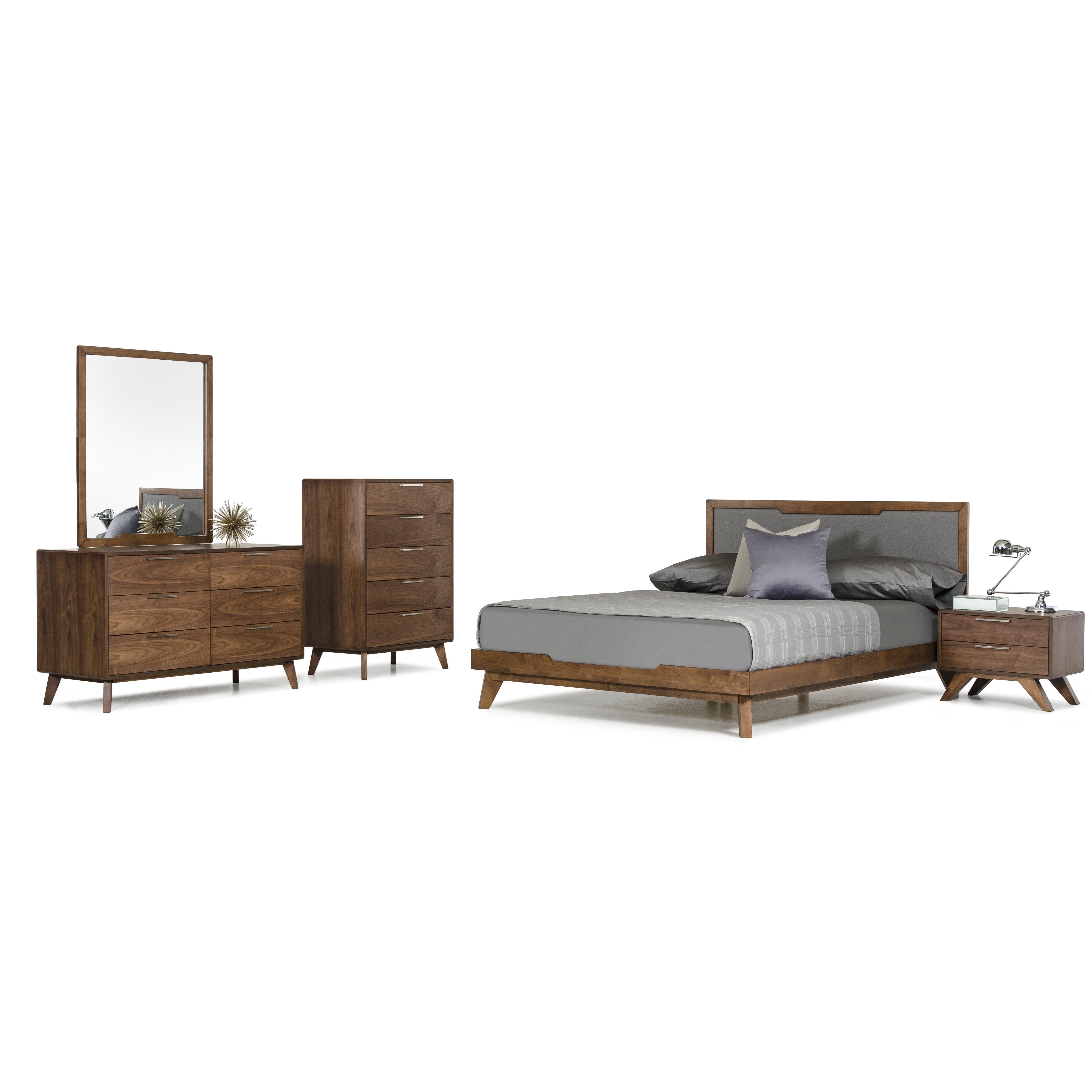 Brayden studio mullen platform 5 piece bedroom set for Bedroom 5 piece sets