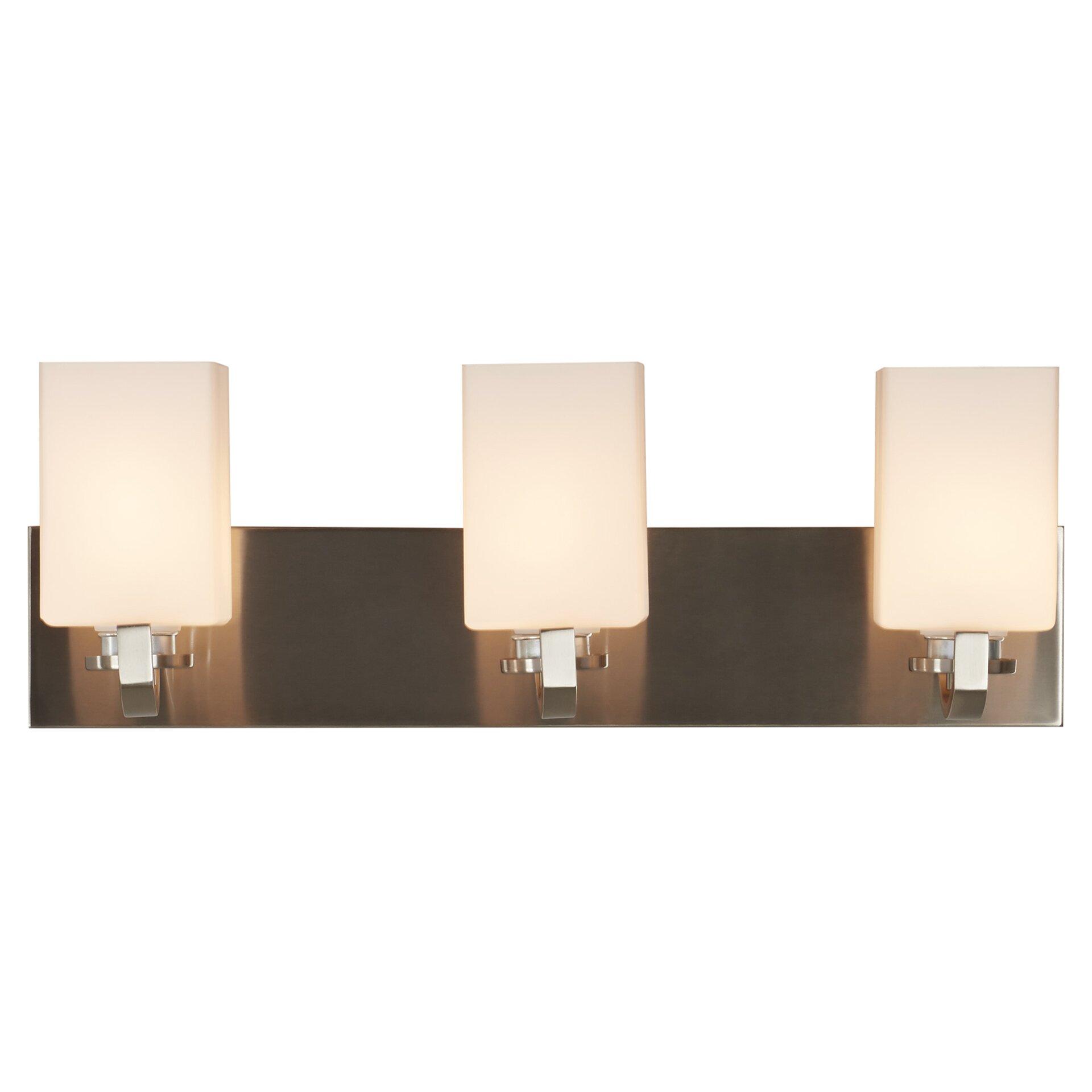 Brayden Studio Soho 3 Light Vanity Light & Reviews Wayfair