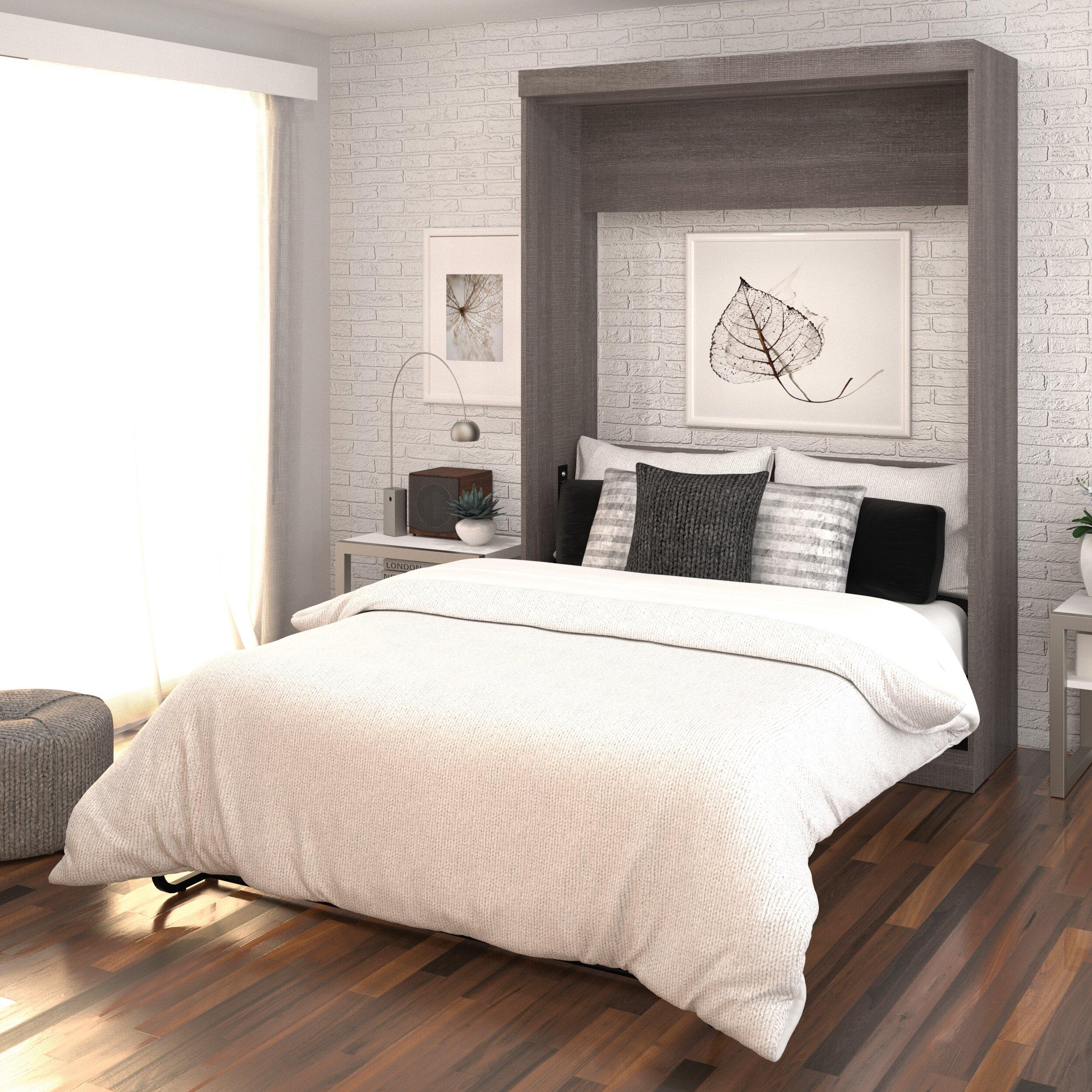 Brayden Studio Truett Queen Murphy Bed Amp Reviews Wayfair