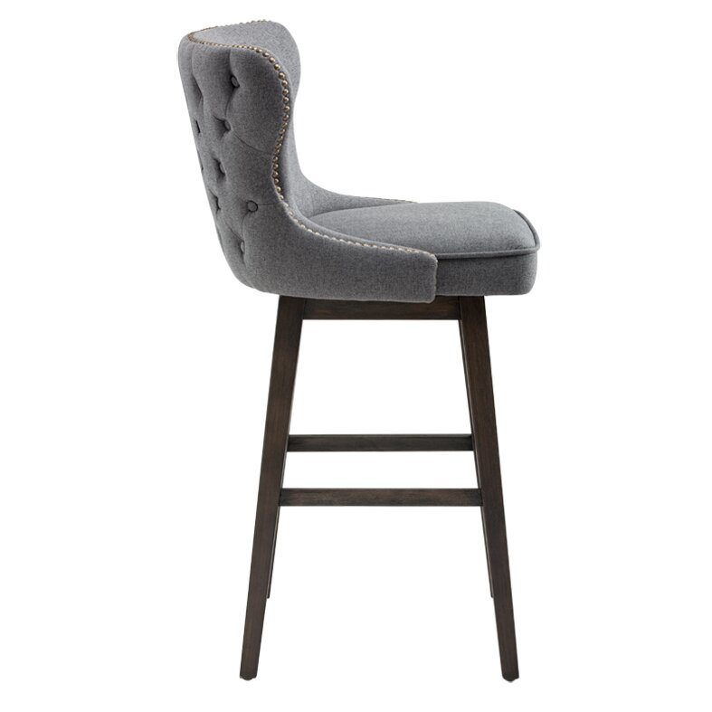 Brayden Studio Fort Hamilton 29 5 Quot Swivel Bar Stool
