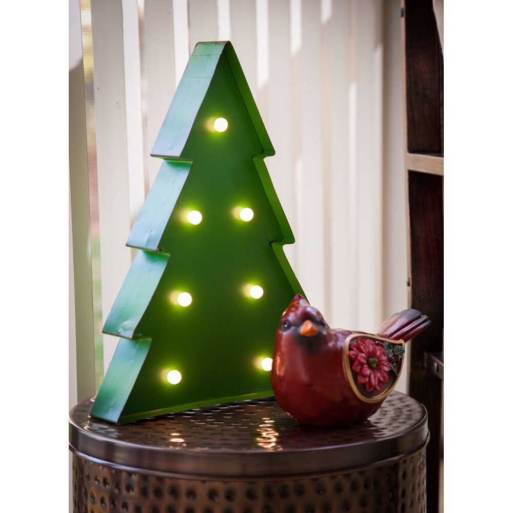 Battery Operated Outdoor Christmas Trees: Brayden Studio Battery Operated Light Up Christmas Tree
