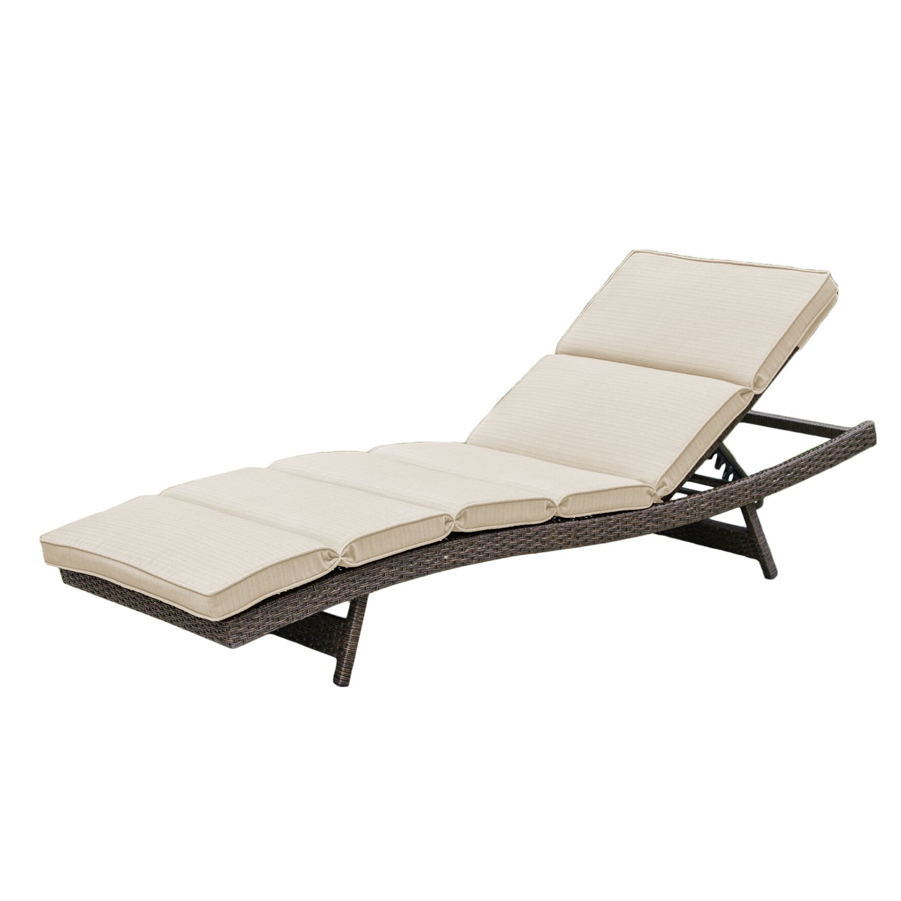 Brayden studio fortenberry chaise lounge with cushion for Buy chaise lounge cushion