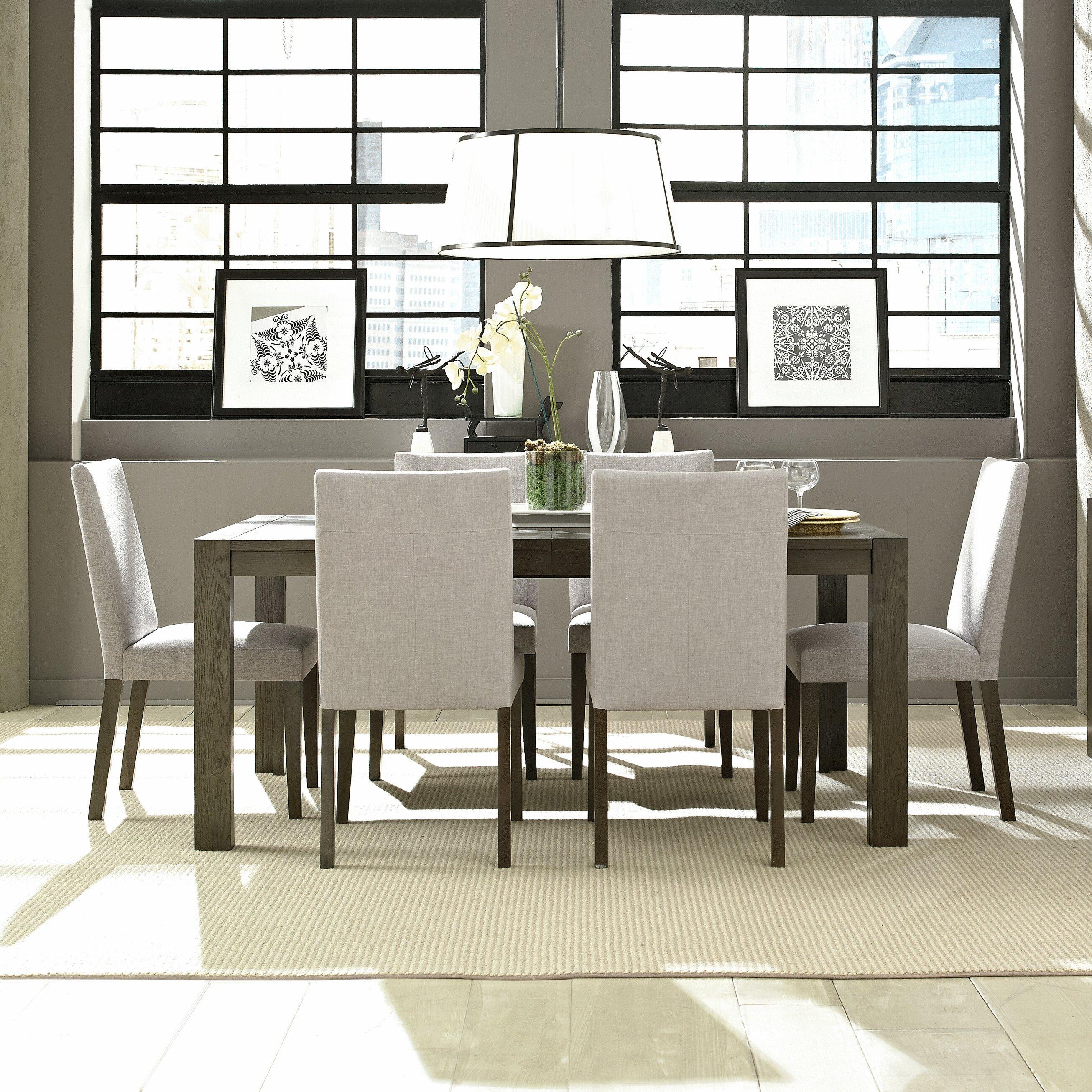 Brayden Studio Mcwhorter Dining Table Reviews: Brayden Studio Sirena Expanded Dining Table & Reviews