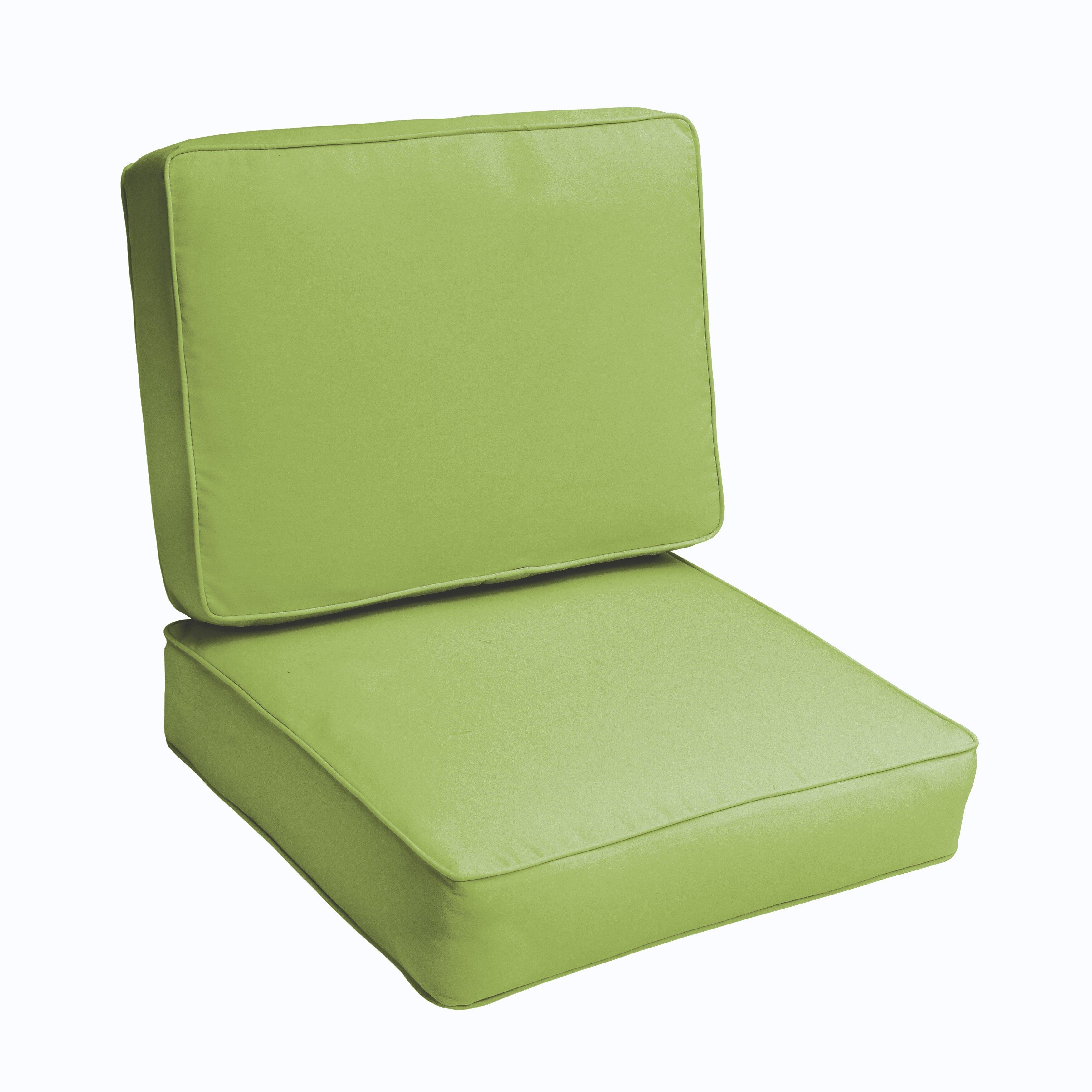 Brayden Studio Kaplan 2 Piece Outdoor Chair Cushion Set – 2 Piece Outdoor Chair Cushions