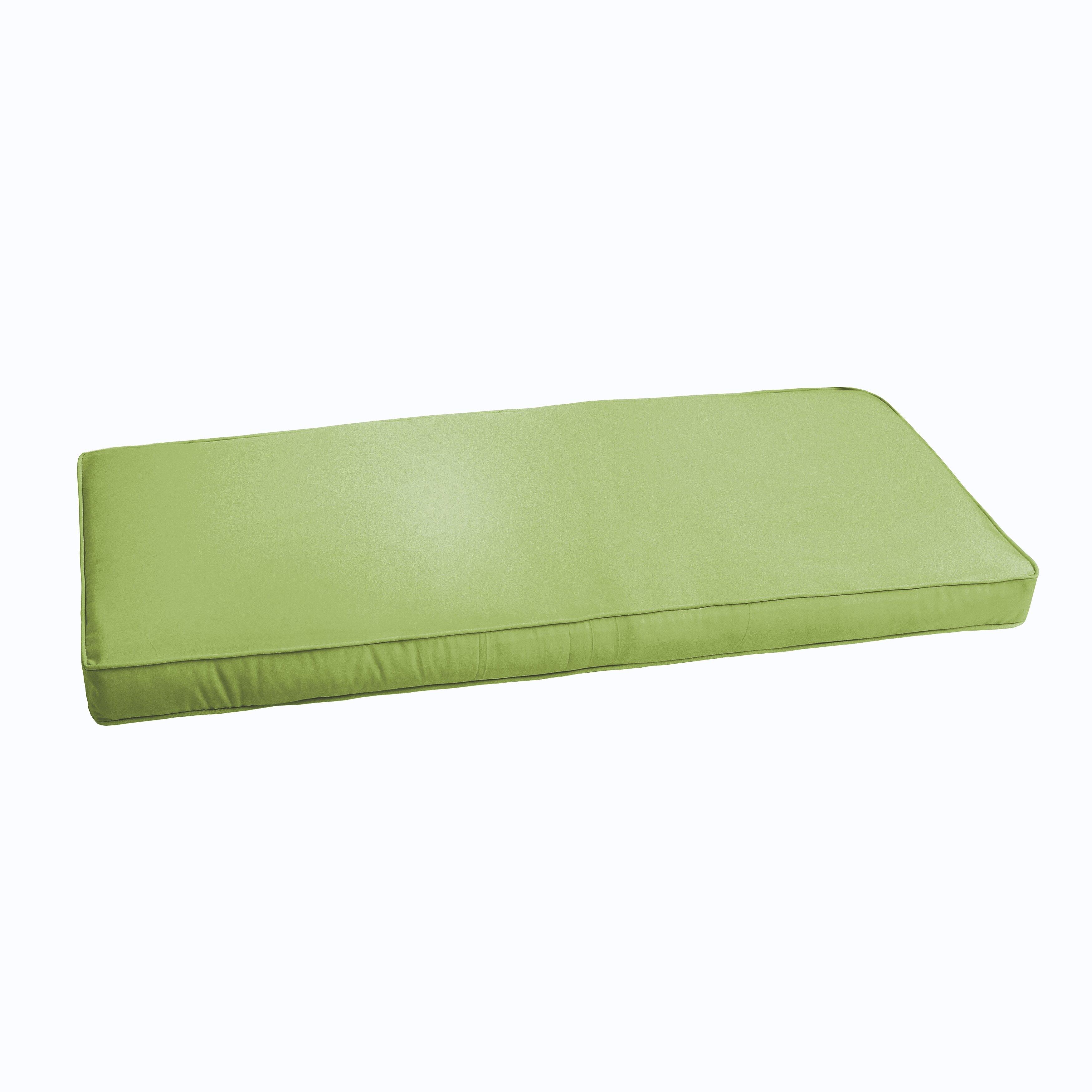 Brayden Studio Kaplan Indoor Outdoor Bench Cushion Reviews Wayfair