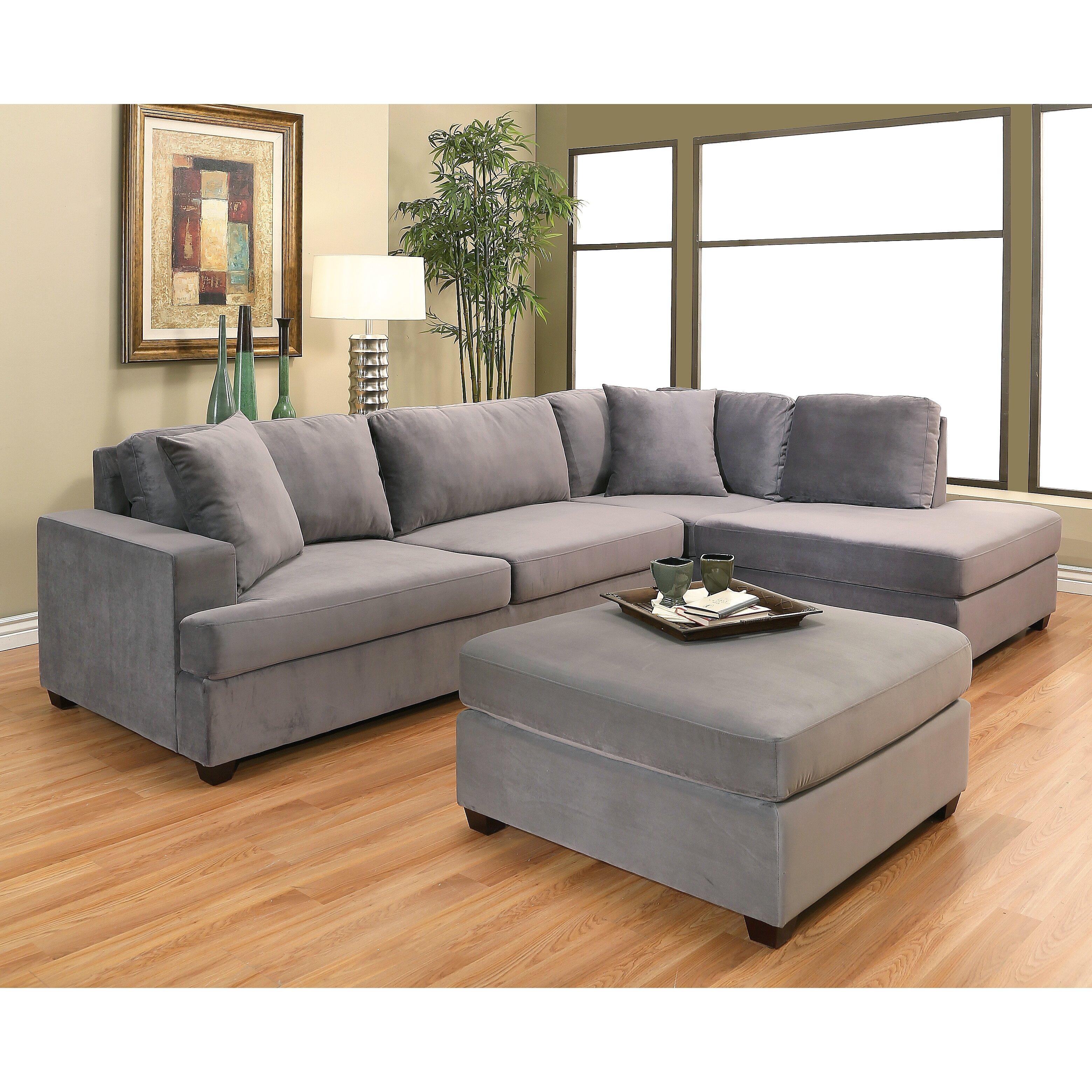 Sectional Sofa In Huntsville Al: Brayden Studio Berryhill Chaise Sectional