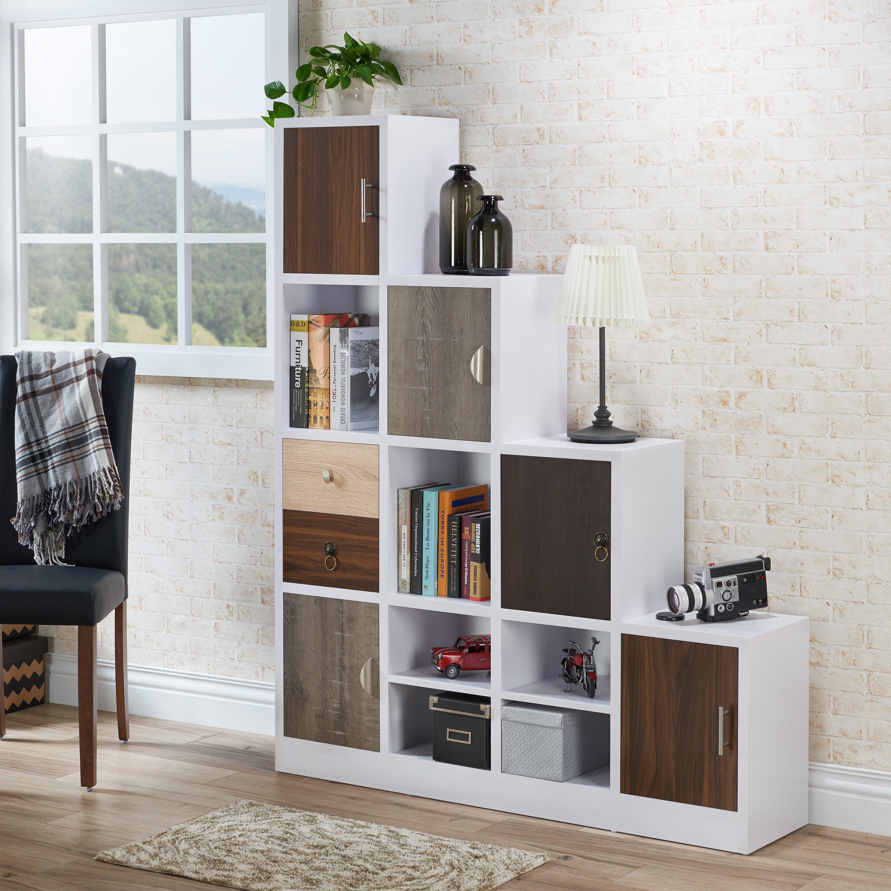 "Brayden Studio Rory 62"" Cube Unit Bookcase & Reviews | Wayfair"