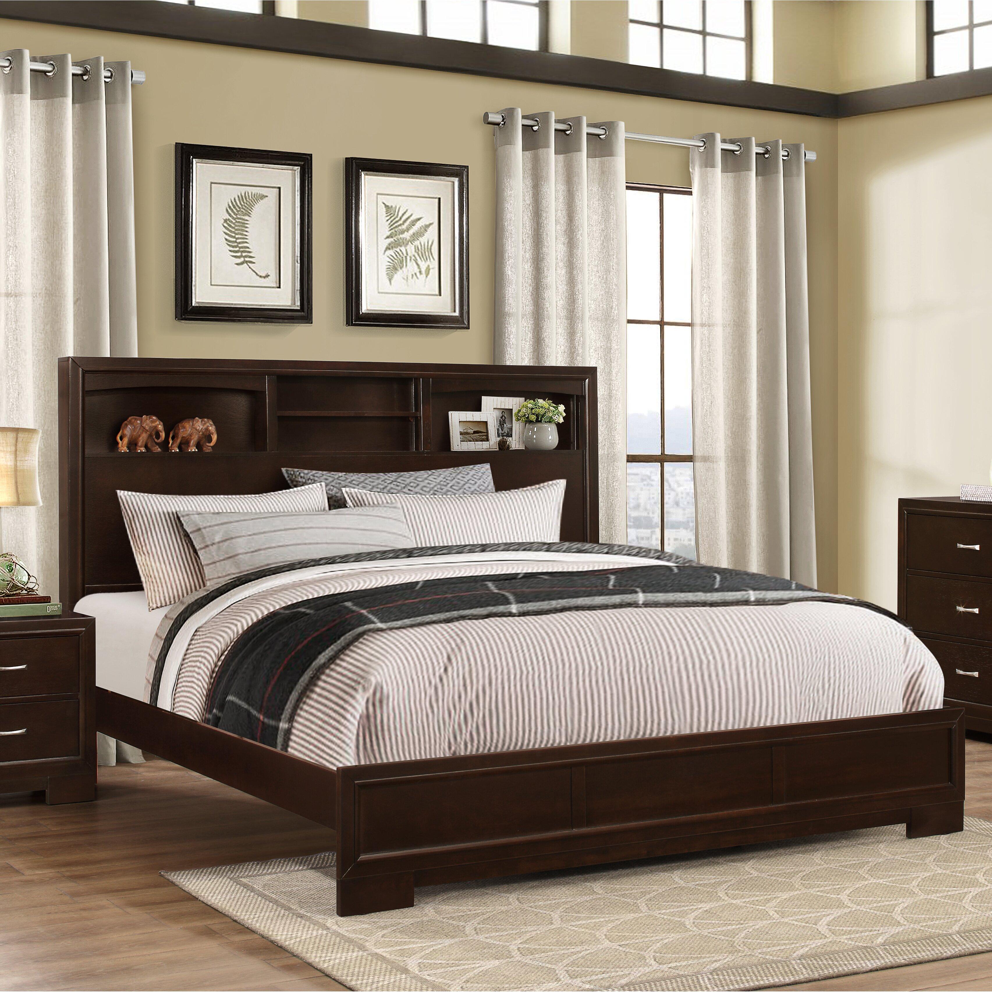 Brayden studio voigt panel 5 piece bedroom set reviews for Bedroom 5 piece sets
