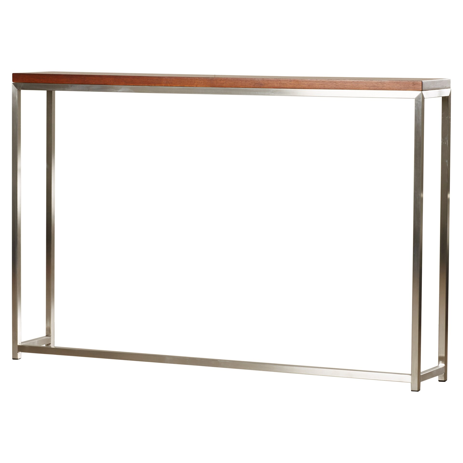 Wade Logan Alejandro Tall Console Table Reviews Wayfair