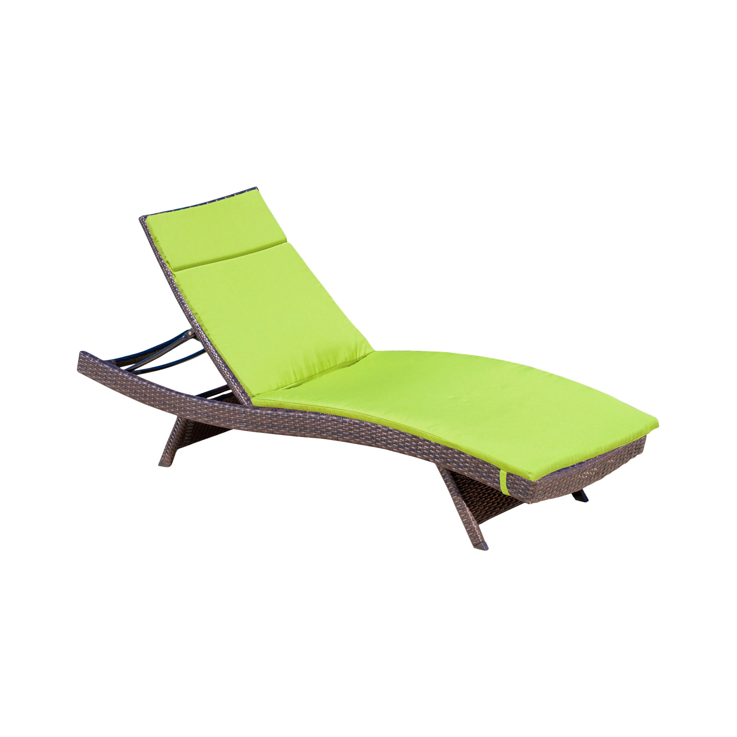 Wade logan claverton down outdoor chaise lounge cushion for Chaise lounge cushion outdoor